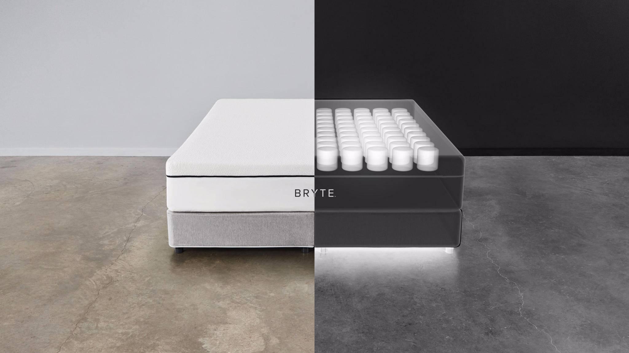 Links warm, rechts kalt: Bryte Bed kann die Temperatur individuell anpassen.