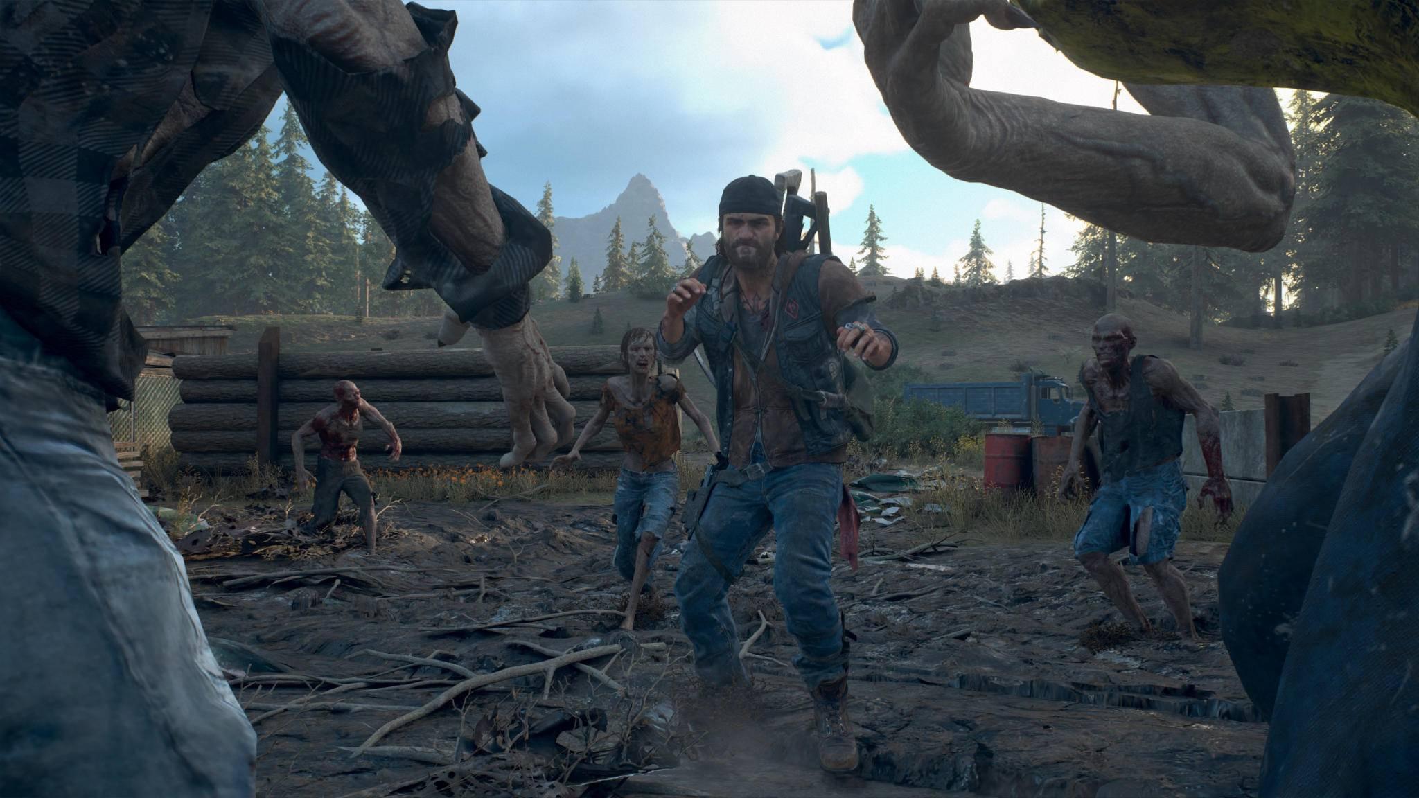 """Der Horror geht weiter: """"Days Gone"""" läuft auf der PS5 mit bis zu 60 FPS und in dynamischer 4K-Auflösung."""