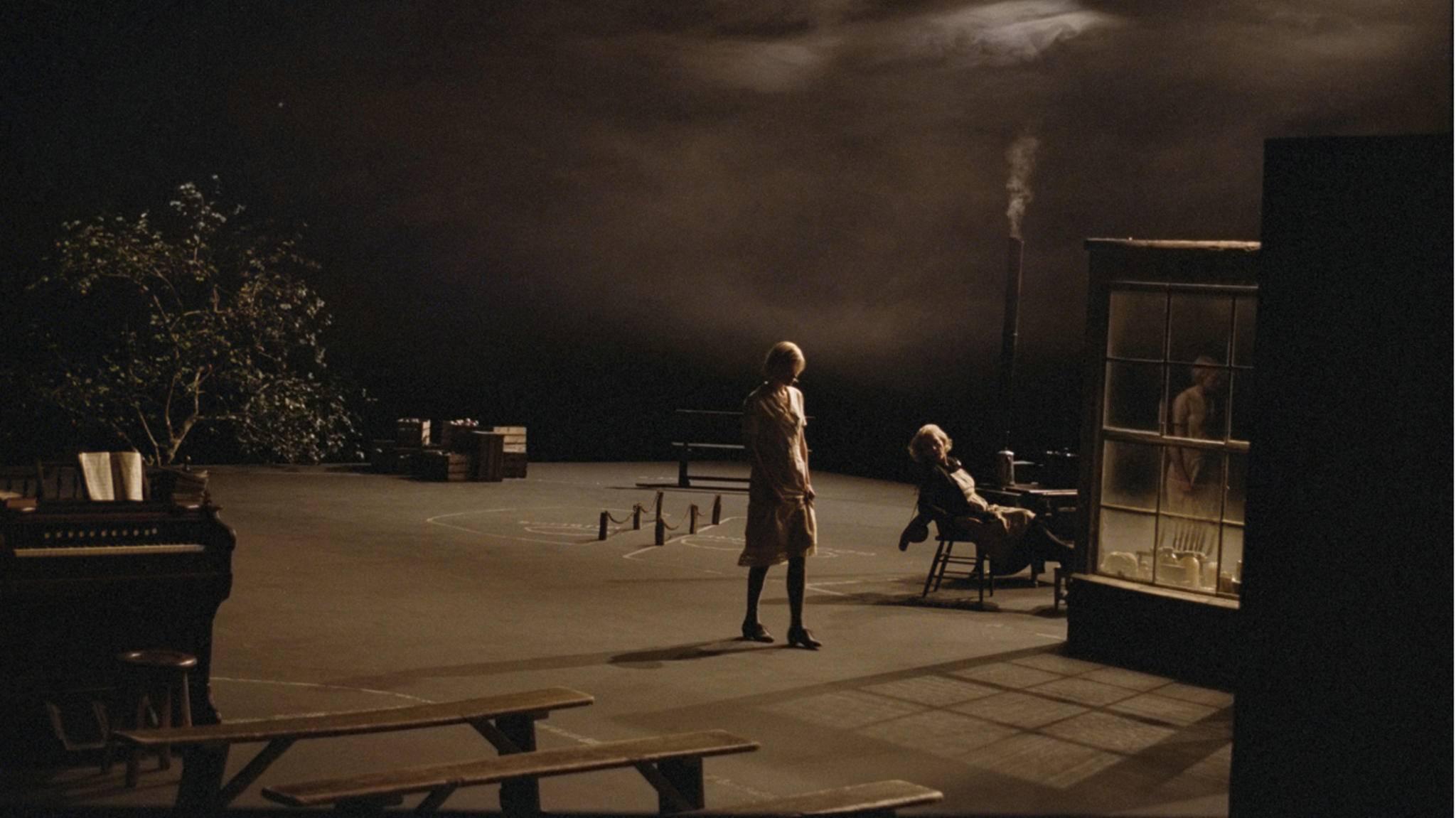 """In """"Dogville"""" brachte Lars von Trier das Theater ins Kino."""