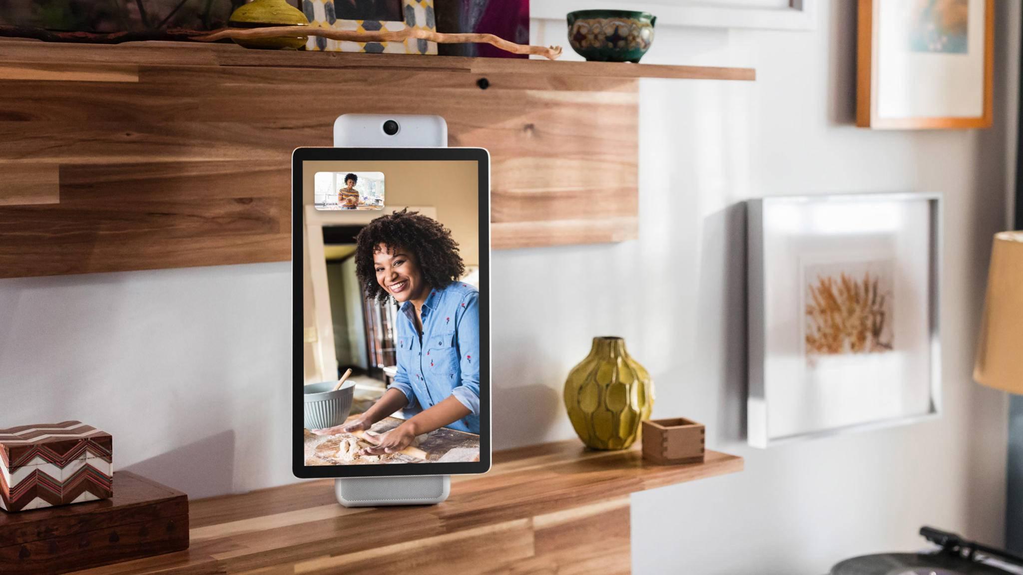 Ein Facebook-Sprachdienst könnte etwa im Smart Display Portal zum Einsatz kommen.