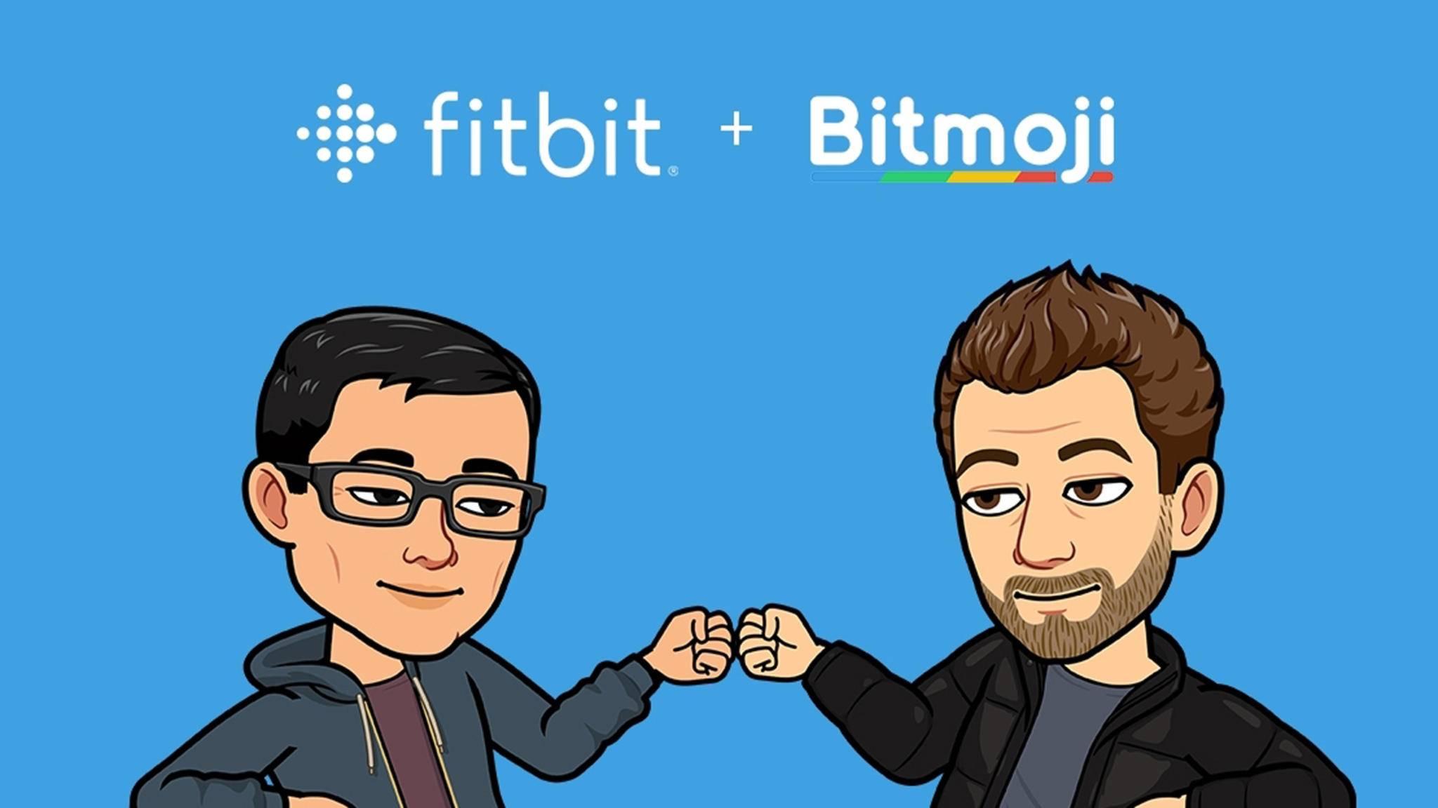 Motivation von Dir selbst? Dank der Zusammenarbeit von Fitbit und Bitmoji ist das künftig möglich.
