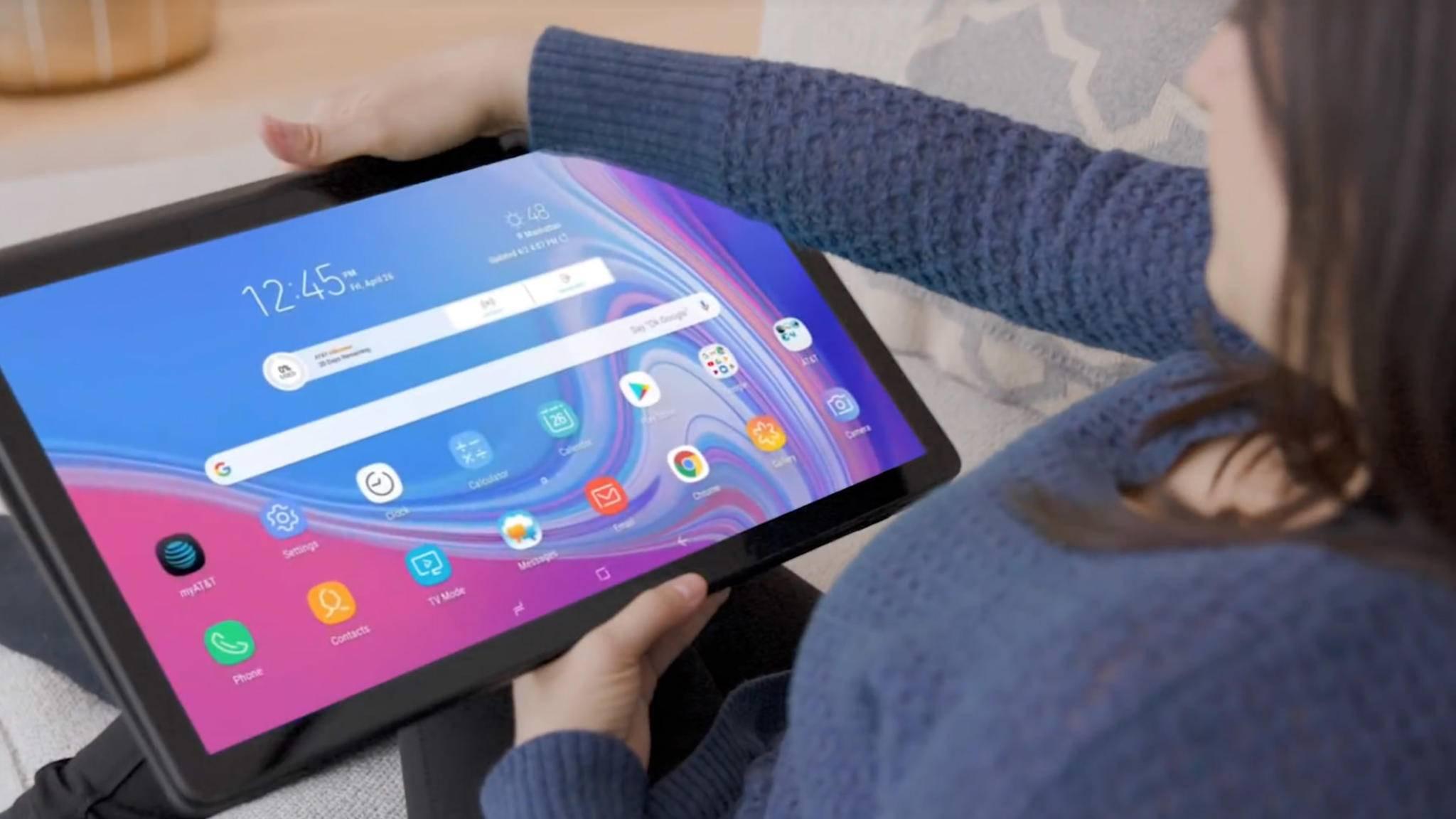 Samsung bringt XXL-Tablet Galaxy View 2 auf den Markt