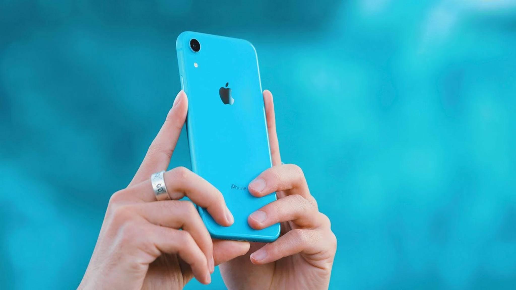 Die iPhones (hier das iPhone XR) sind für den Apple-Gewinn nicht mehr so wichtig wie früher.