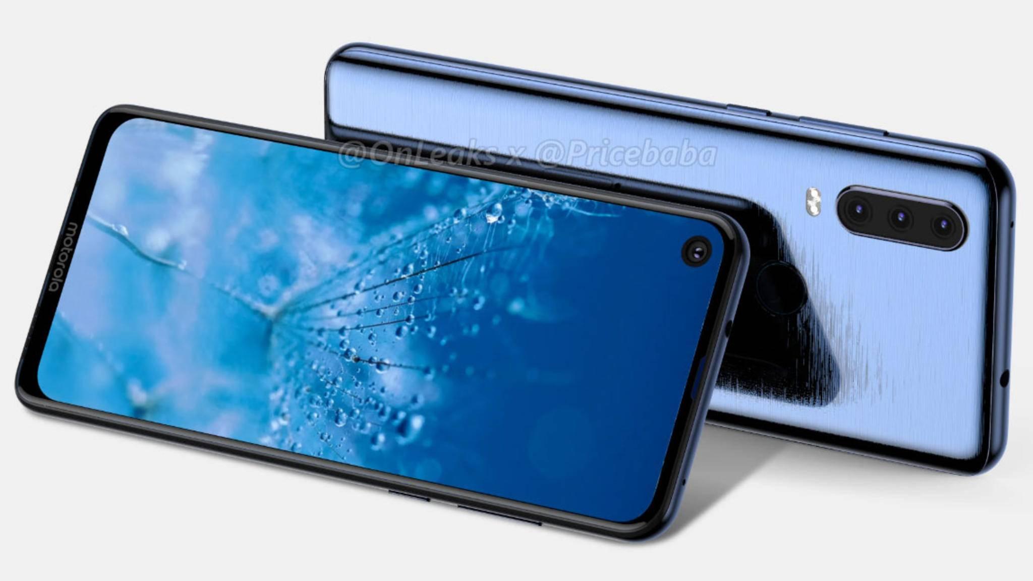 Das Motorola One Vision Plus könnte das erste Moto-Smartphone mit Triple-Kamera werden.