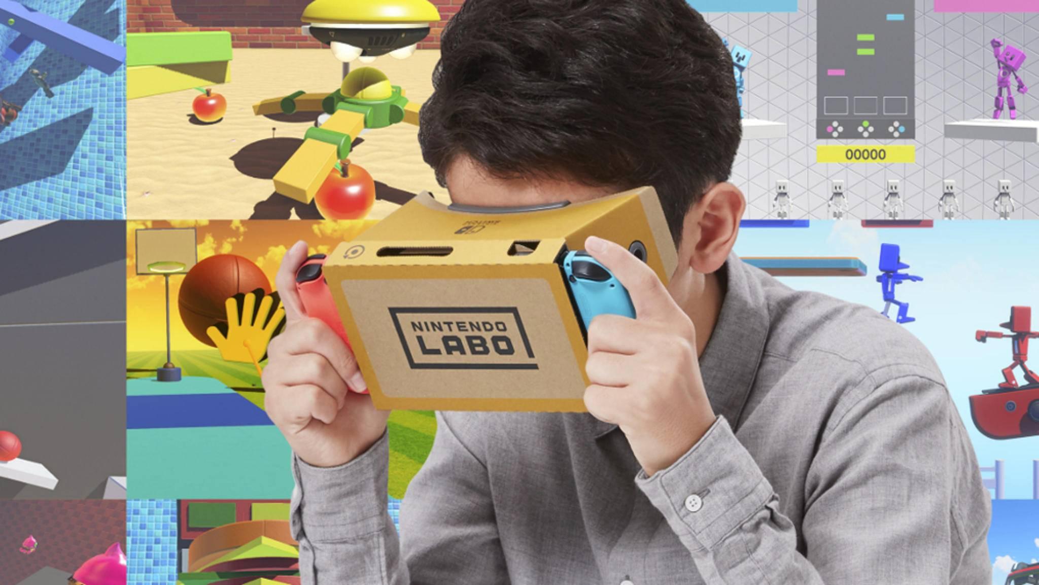 Labo bringt VR auf die Nintendo Switch.