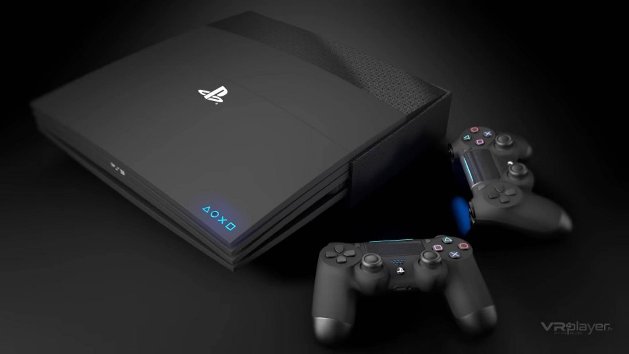 Konzeptbild: Sony hat viele Neuigkeiten zur PS5 verraten.