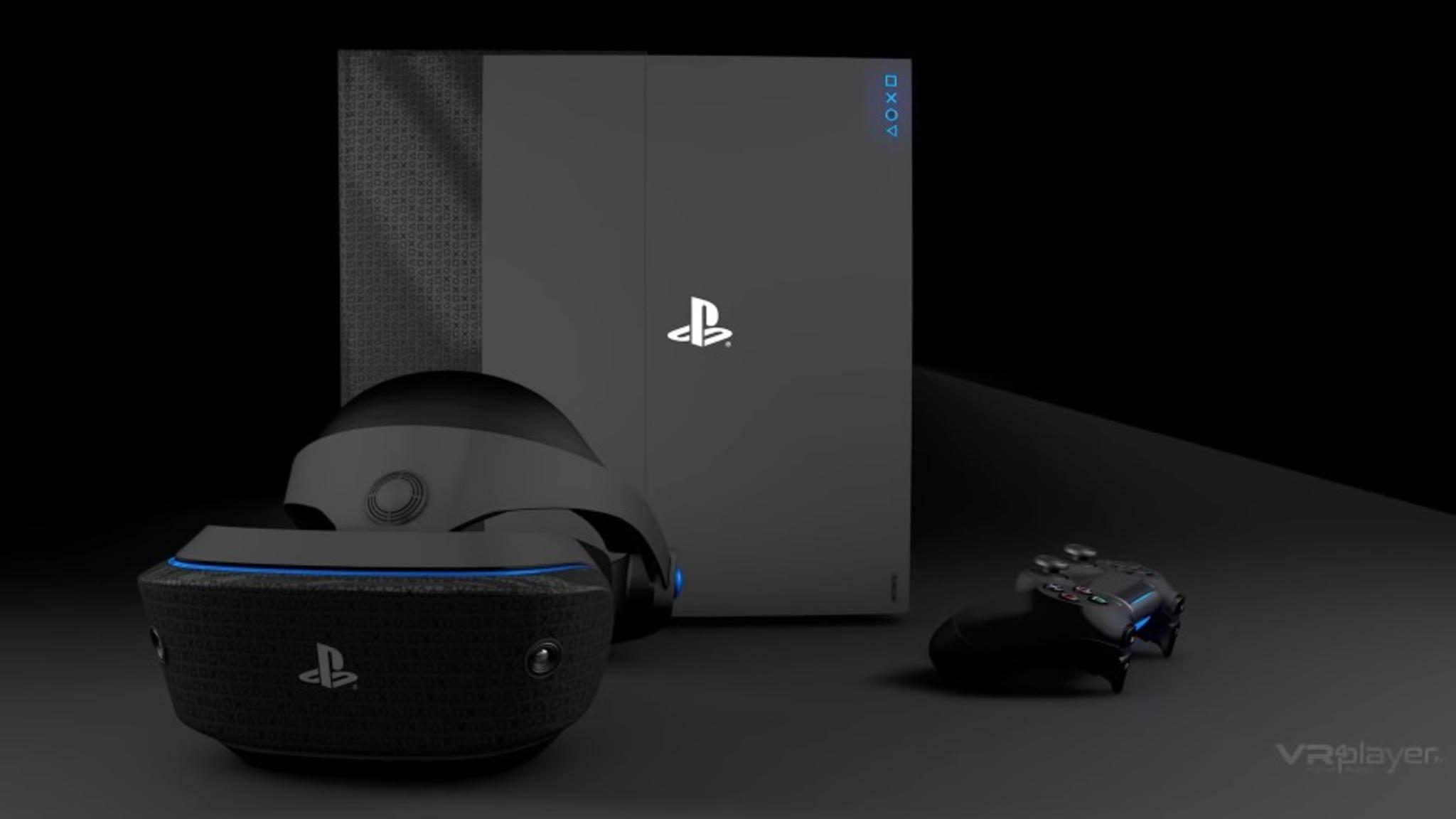 Konzeptbild: Die PlayStation 5 kommt bestimmt – nur wann genau, das weiß nur Sony.