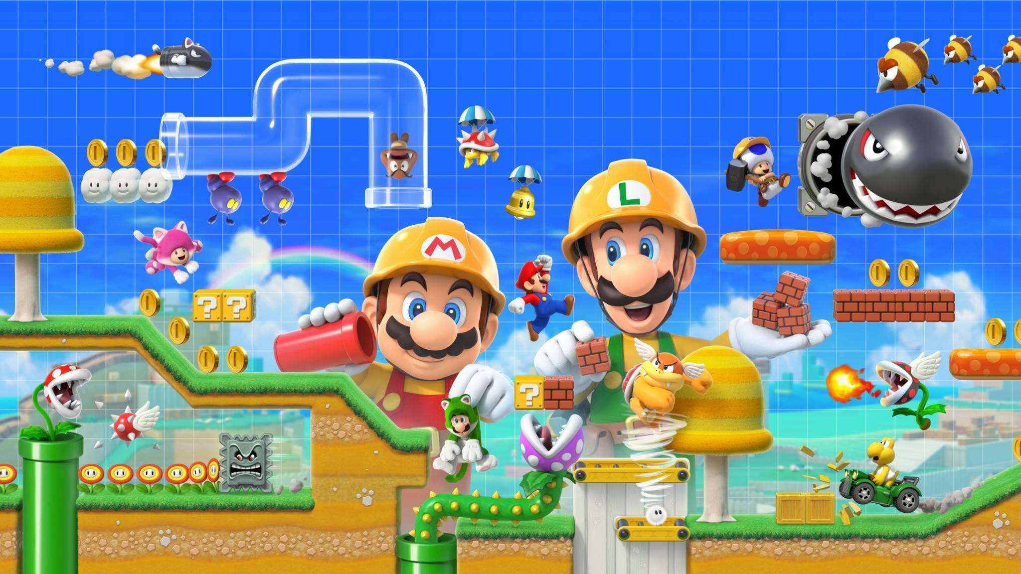 """Vorbesteller des """"Super Mario Maker 2"""" erhalten zusätzlich einen kostenlosen Stylus für die Switch."""