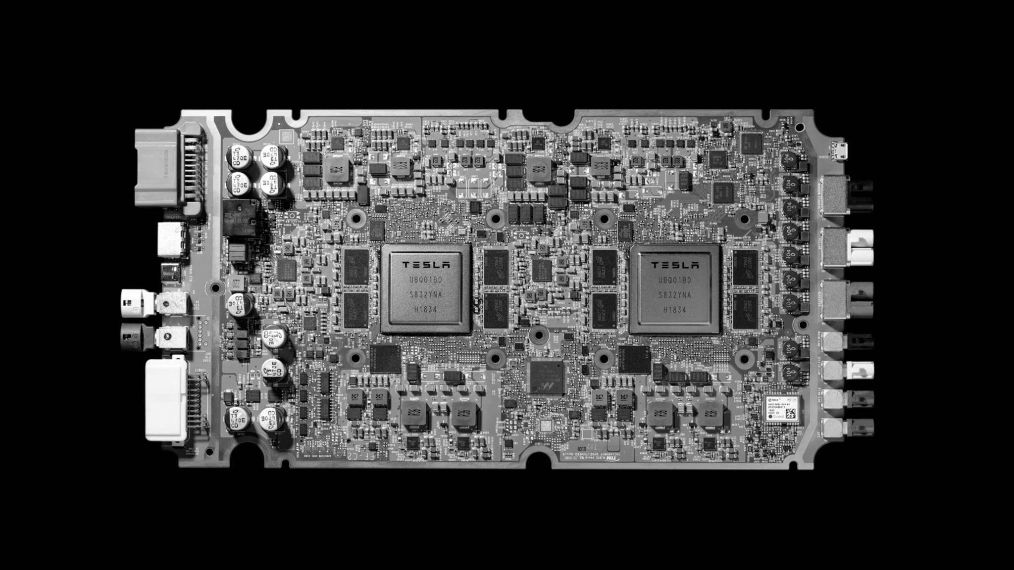 Der neue Tesla-Chip wird bereits in allen neuen Tesla-Fahrzeugen verbaut.