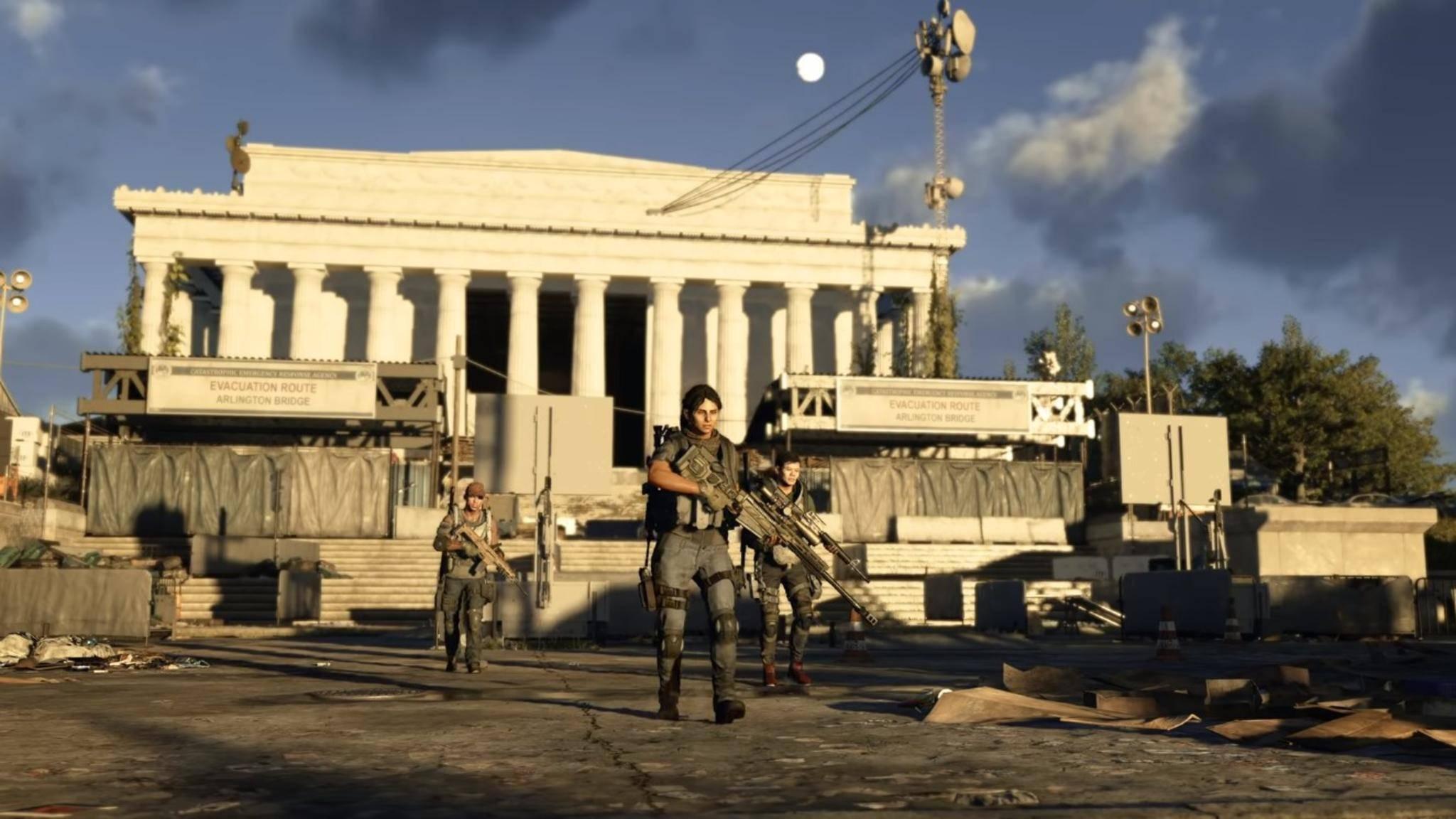 """""""The Division 2"""" wird es Spielern bald wohl einfacher machen, sich zu Raids zusammenzuschließen."""