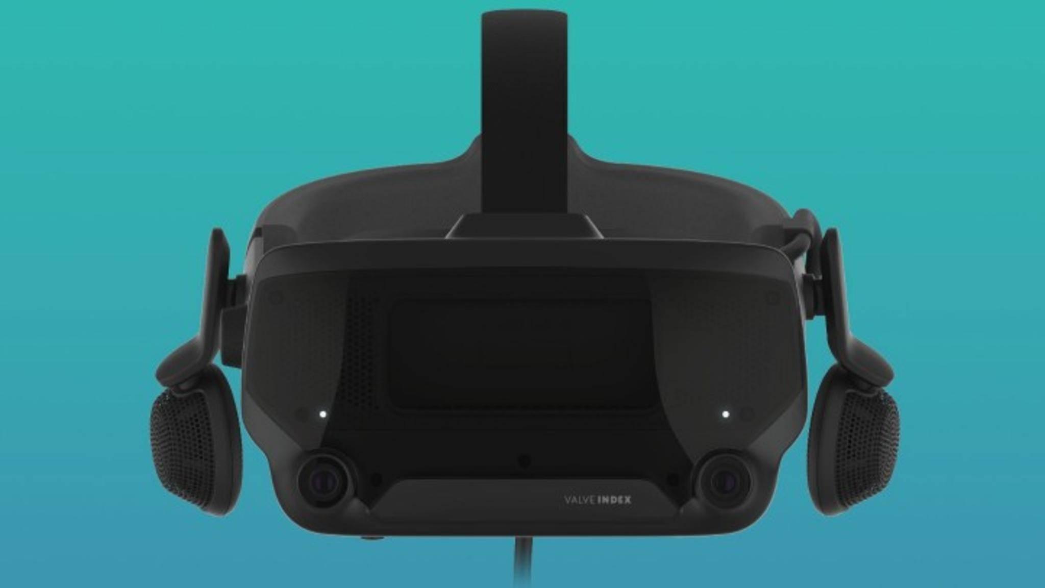 Valve Index: So wird das VR-Headset aussehen.