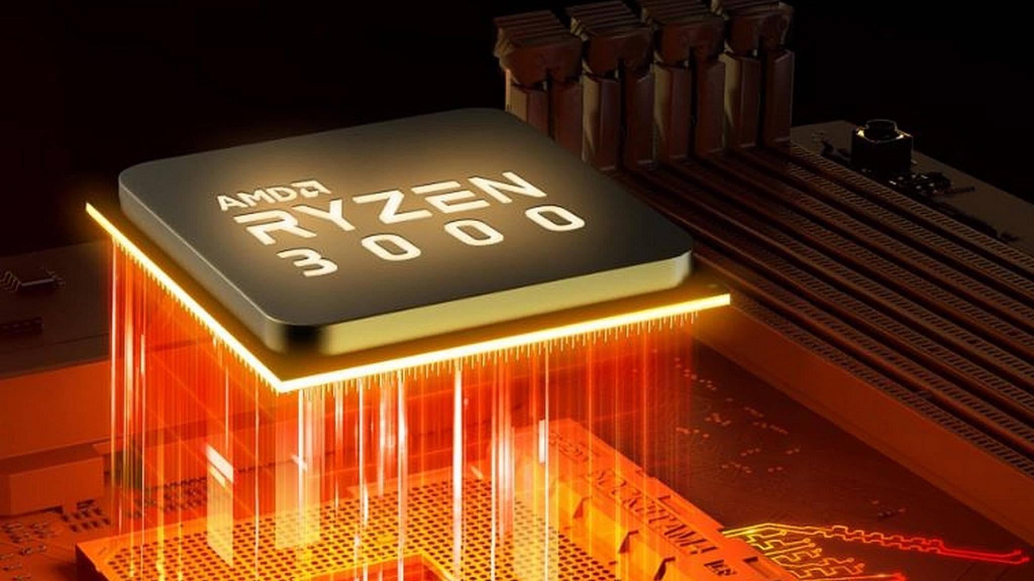 Die AMD-Ryzen-3000-Prozessoren kommen im Juli.