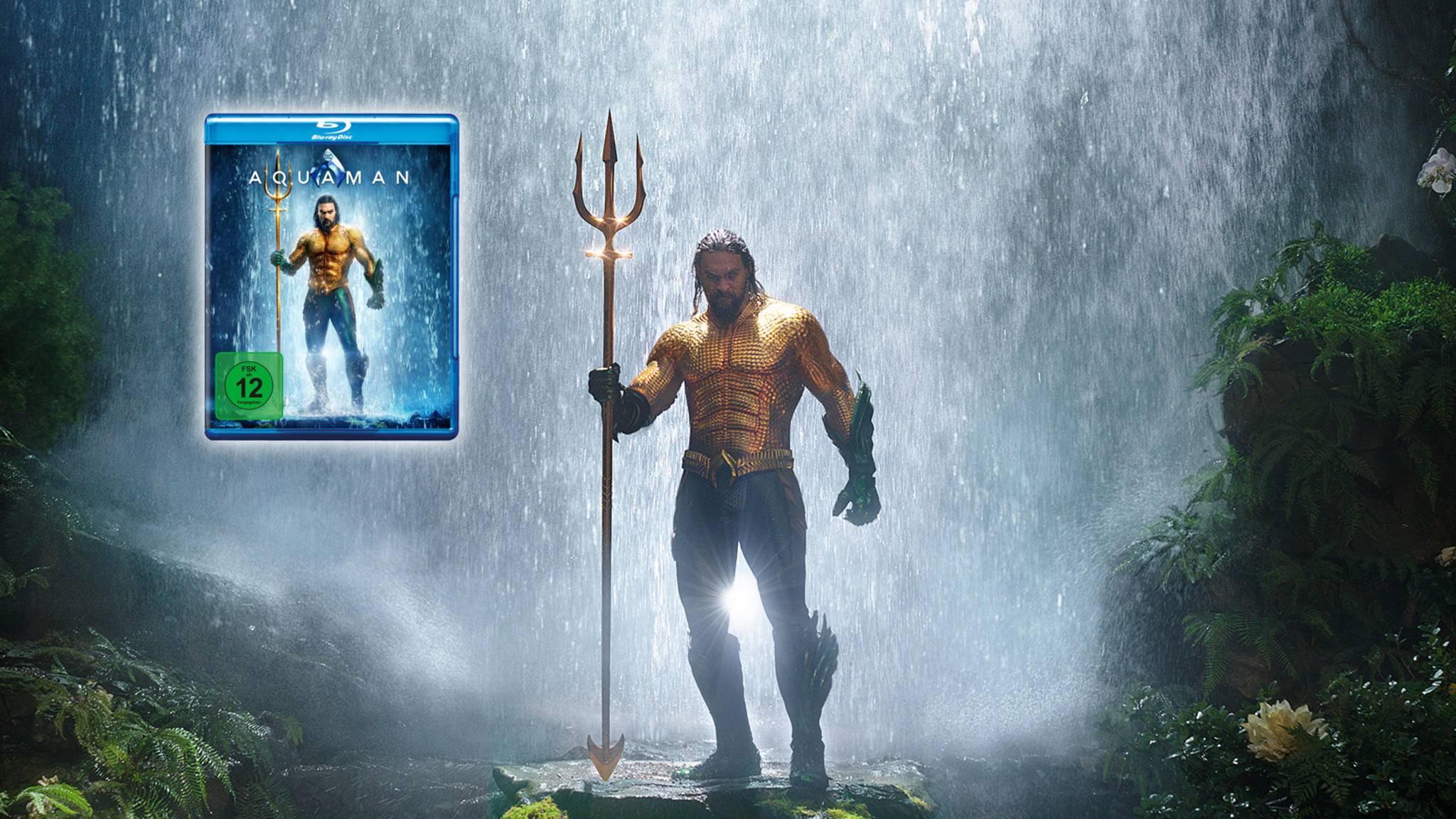 """Auch """"Aquaman"""" verfügt über eine deutsche Dolby-Atmos-Tonspur."""