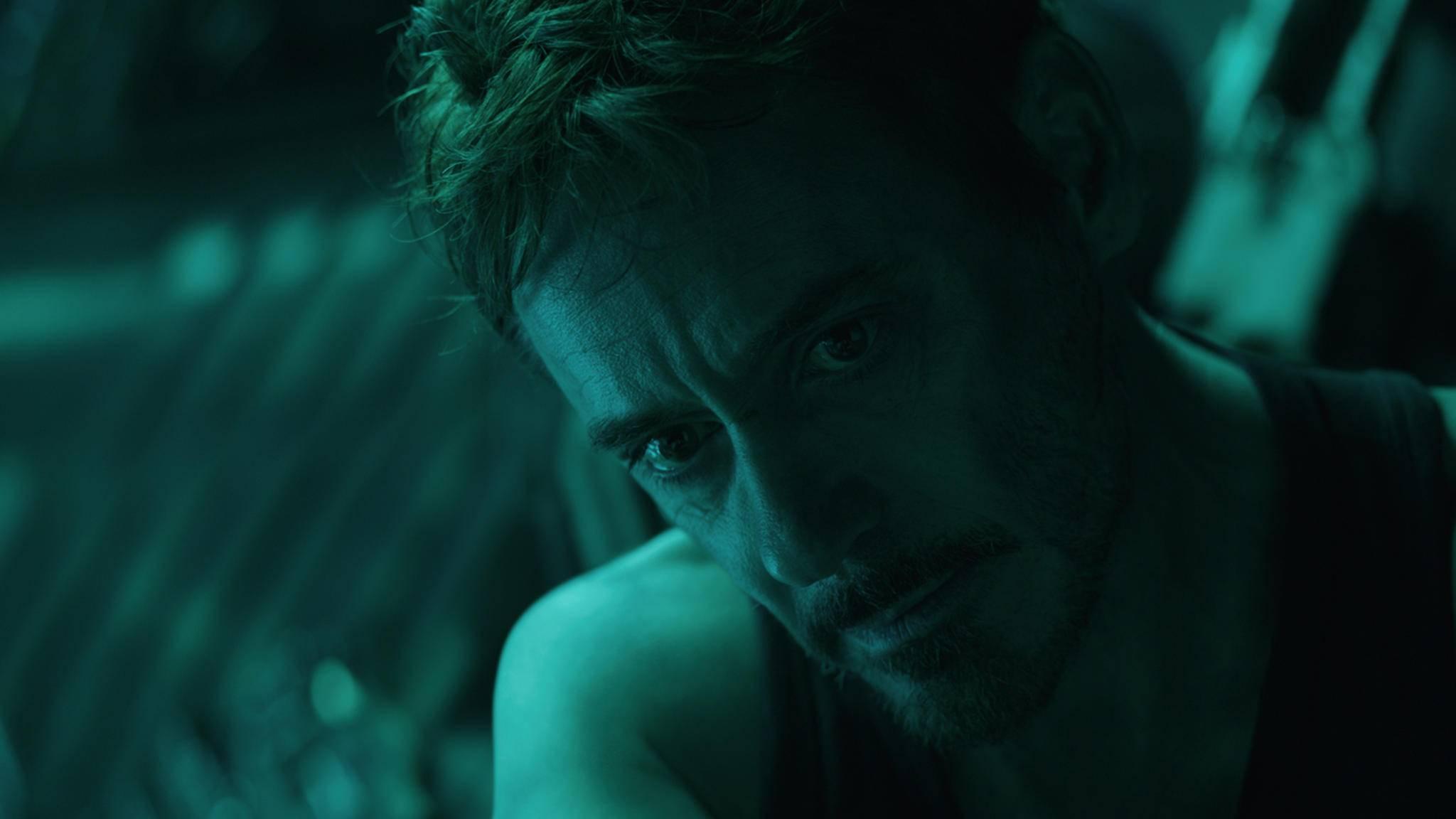 """Eine herausgeschnittene Szene aus """"Avengers: Endgame"""" dreht sich um Tony Starks heldenhaftes Opfer."""