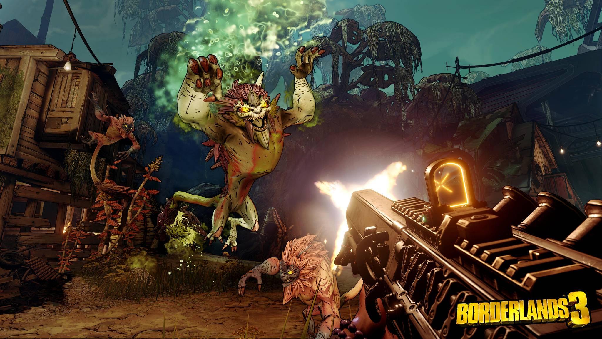"""""""Borderlands 3"""" dürfte Gamer eine ganze Weile beschäftigen."""