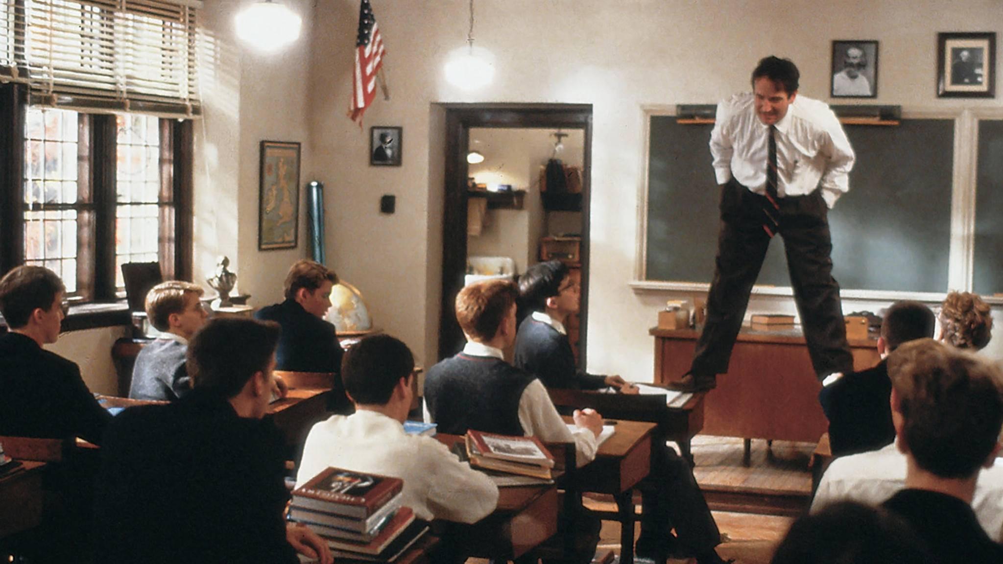 Wie einst Robin Williams: Wir erklären Filmbegriffe kurz und kompakt.