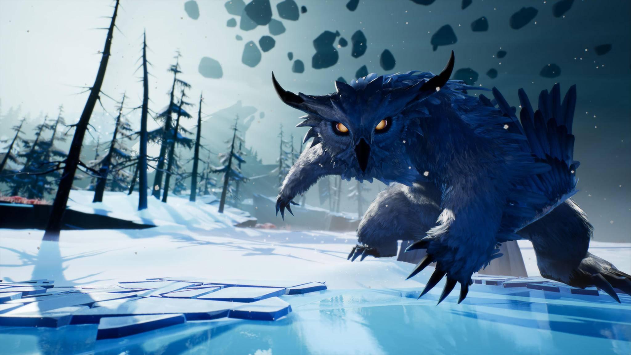 """Behemoths verstecken sich gut! Um die Monster finden zu können, bedarf es in """"Dauntless"""" einiger Tipps."""