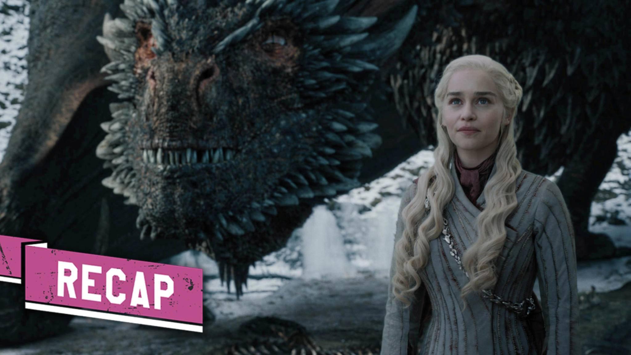 So kurz vor dem Ziel: Daenerys und ihr Drachen sehen dem Ende entgegen.