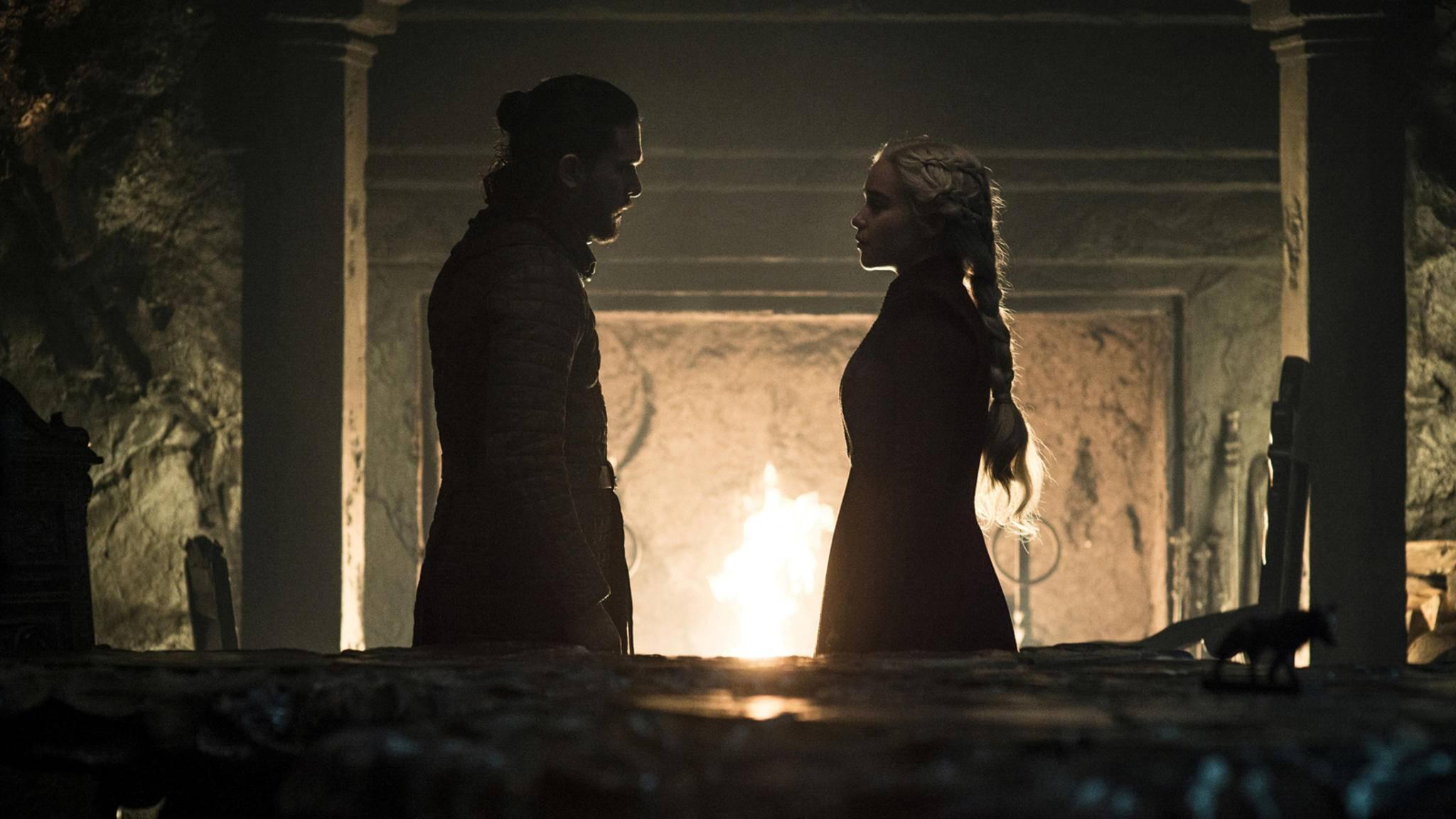Das Schicksal von Jon Snow und Daenerys Targaryen könnte in den Büchern einen anderen Lauf nehmen.