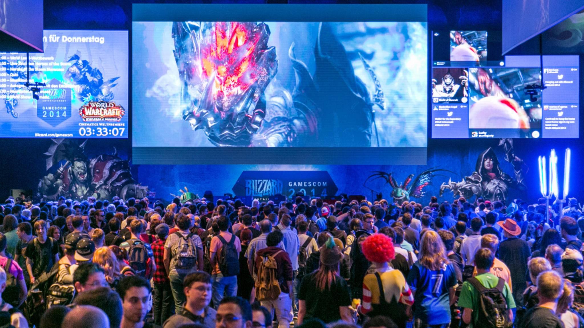Nichts mit Messetrubel: Die Gamescom wandert in diesem Jahr ins Internet.