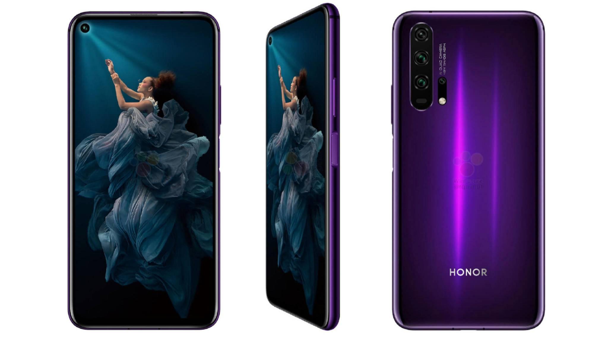 Das Honor 20 Pro hat ein 6,26 Zoll großes Display.