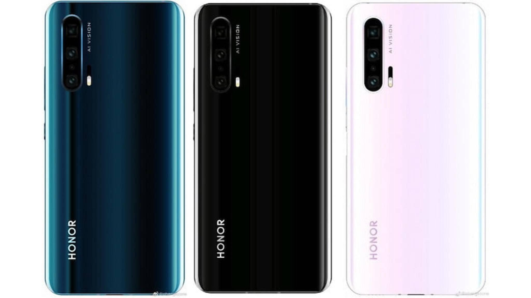 Das Honor 20 soll auch in einer Pro-Version (Leakfoto) auf den Markt kommen.
