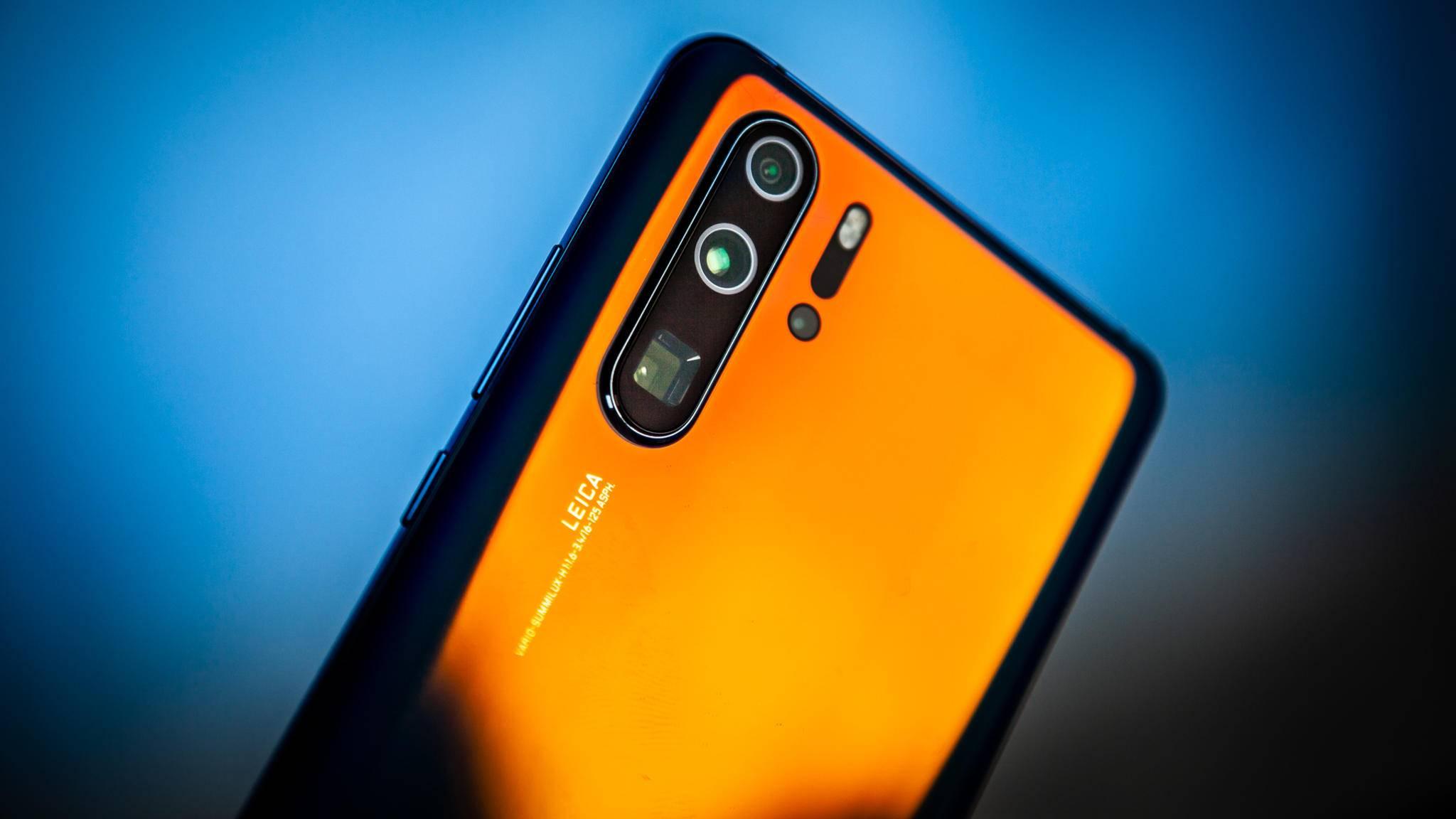Huawei-Smartphones wie das P30 Pro erhalten Android 10.