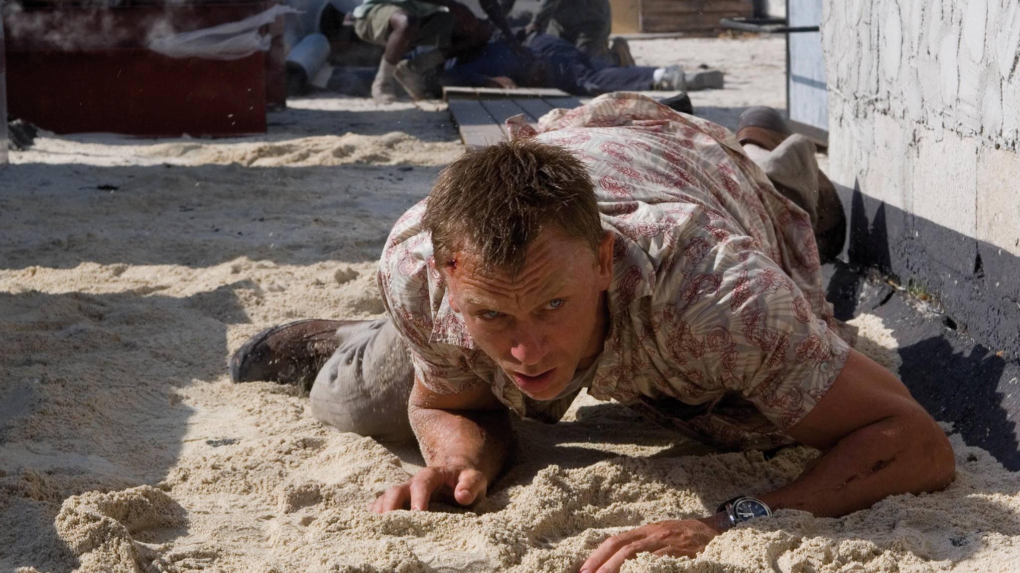 """Daniel Craig hat sich beim """"Bond 25""""-Dreh verletzt."""