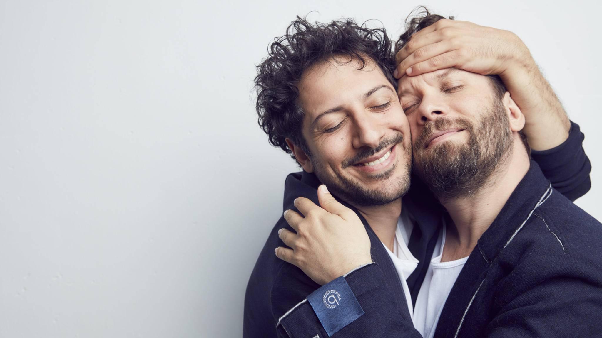 """Sie lieben sich (meistens): Fahri Yahrdim und Christian Ulmen sind richtige """"Jerks""""."""