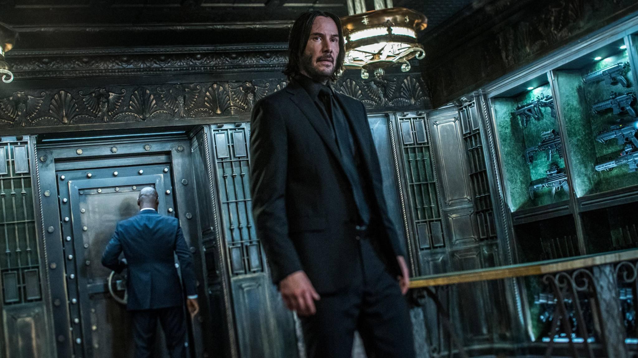 Keanu Reeves kann sich über fehlende Rollenangebote nicht beklagen.