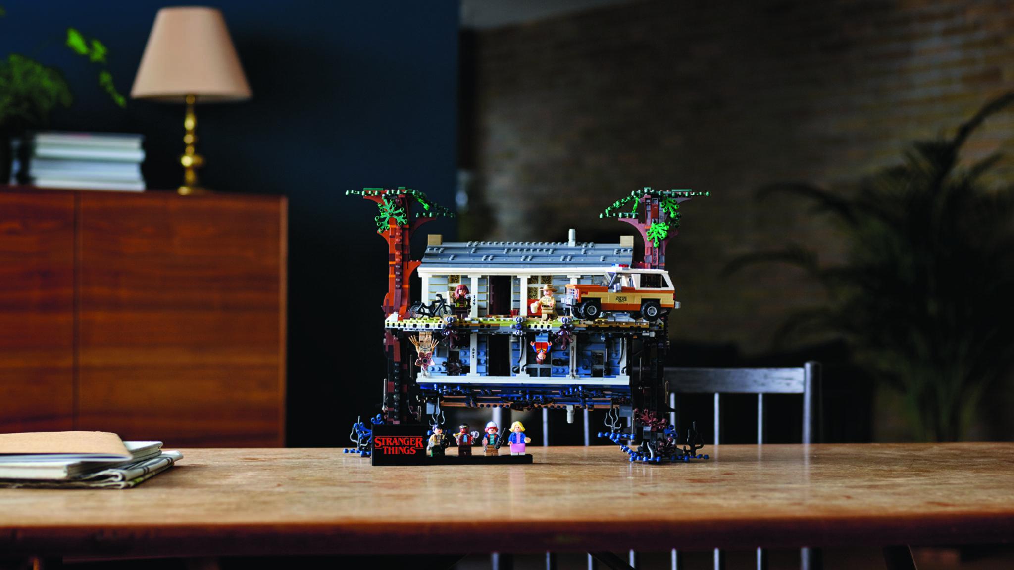 """Das Byers-Haus ist das erste und hoffentlich nicht letzte """"Stranger Things""""-Lego-Set."""