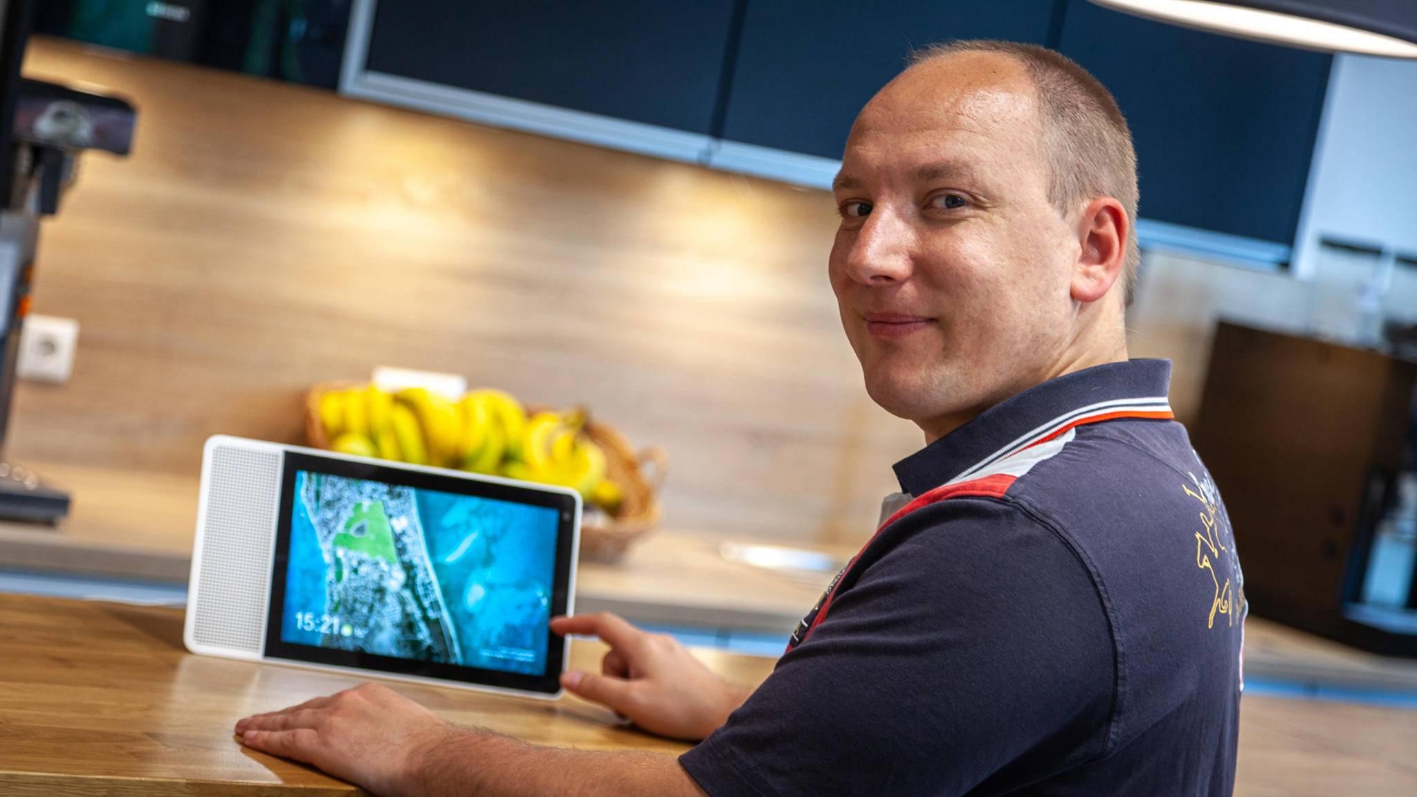 Die Küche dürfte für viele Nutzer wohl der optimale Standort fürs Smart Display sein.