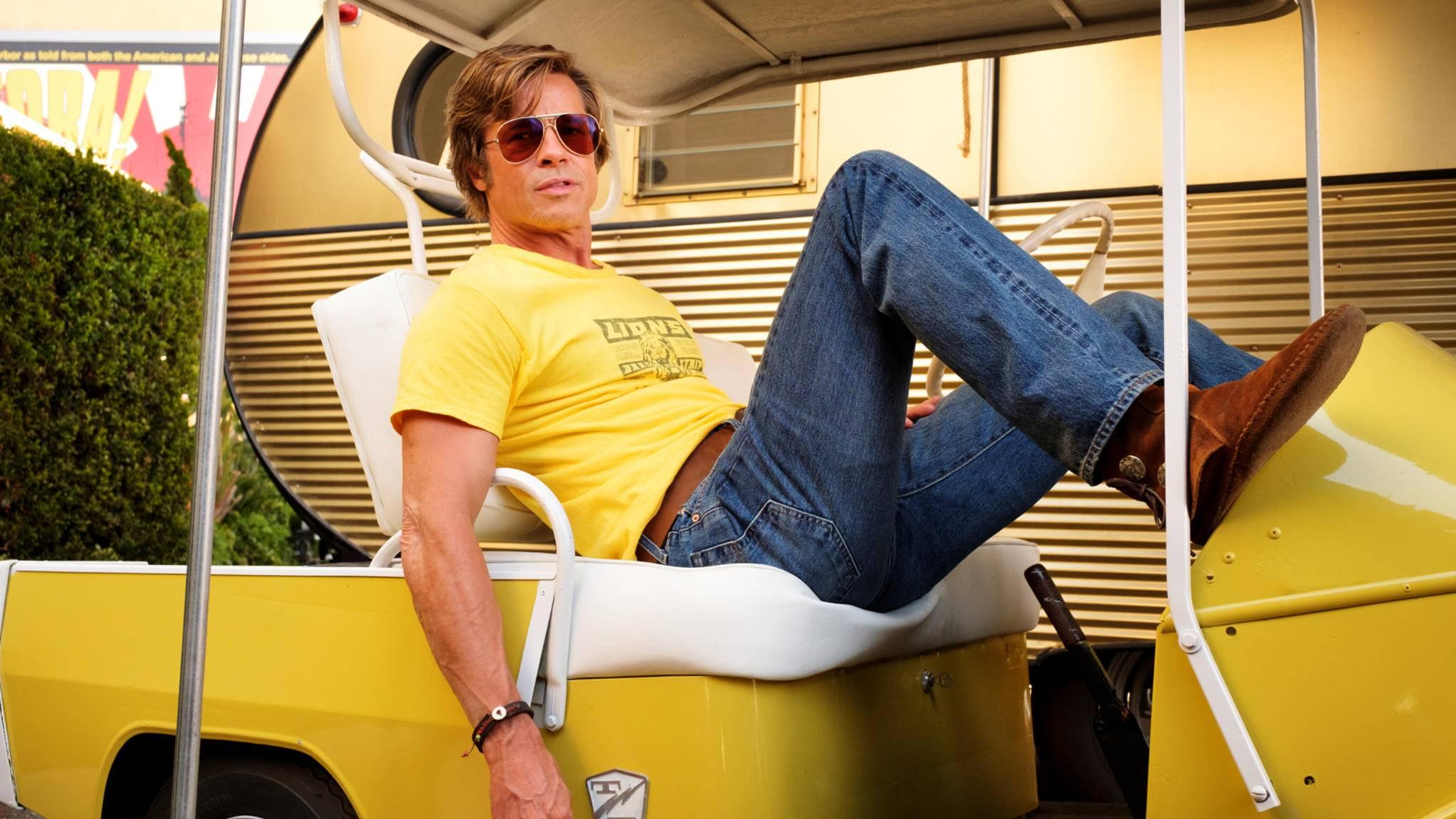 Brad Pitt hat inzwischen in über 80 Filmen und Serien mitgespielt.