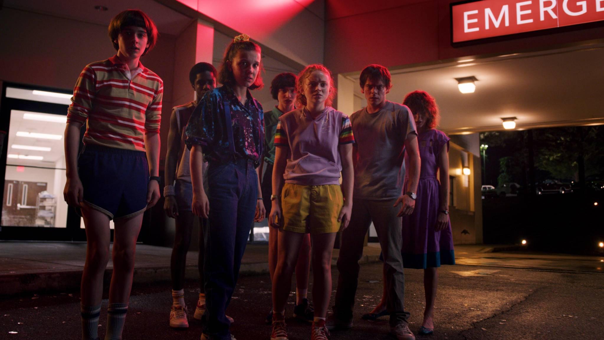 """Was erwartet die Gruppe um Elfie in der dritten """"Stranger Things""""-Staffel?"""