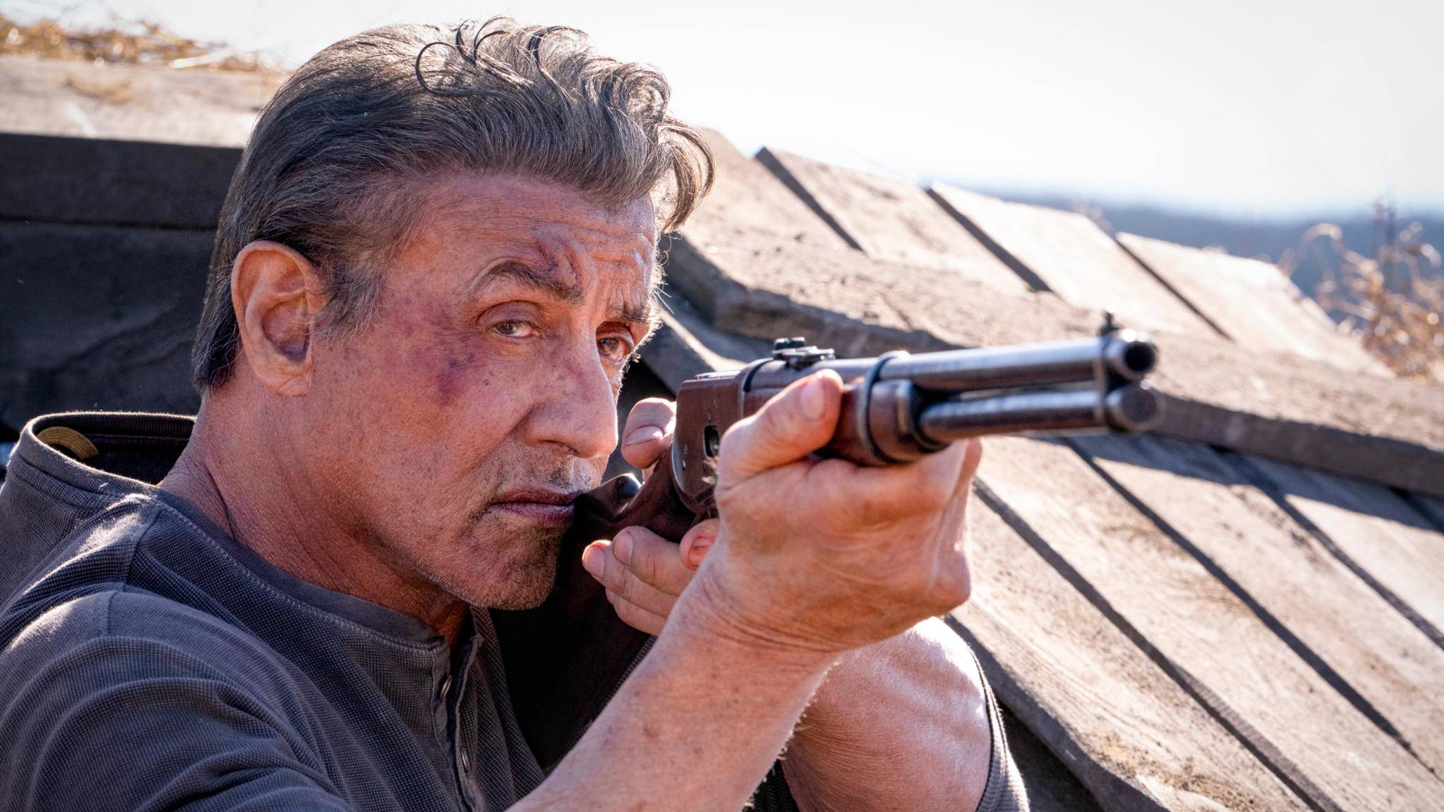 Die Tage als Einzelkämpfer müssen für Rambo (Sylvester Stallone) noch nicht gezählt sein.