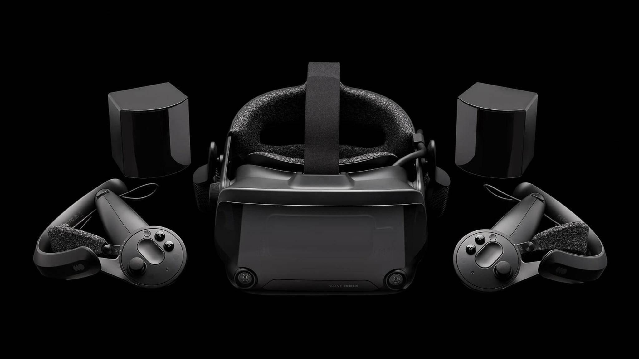 Das Valve Index bietet neueste VR-Technik für den PC.