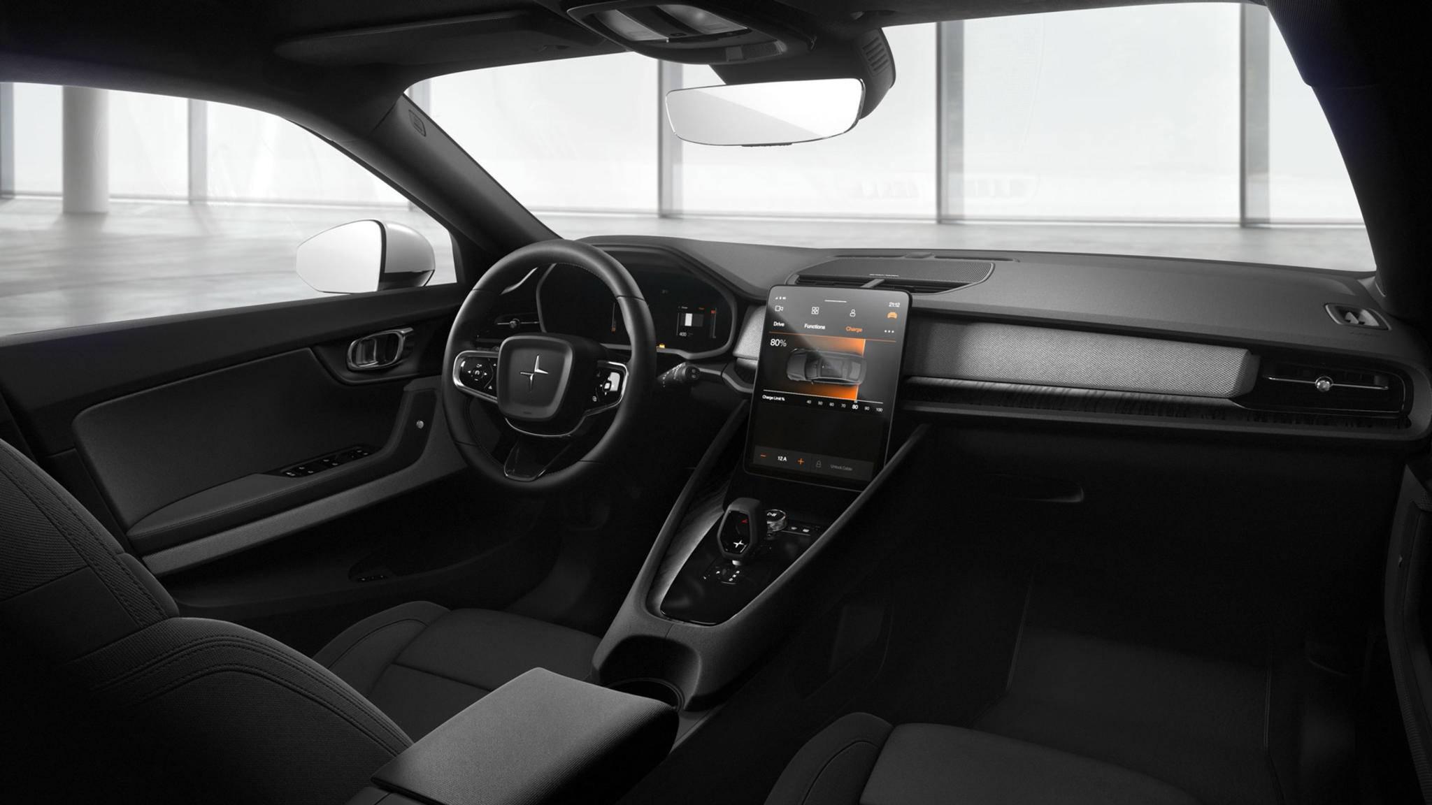 Der Polestar 2 wird das erste Auto mit integriertem Android Automotive.