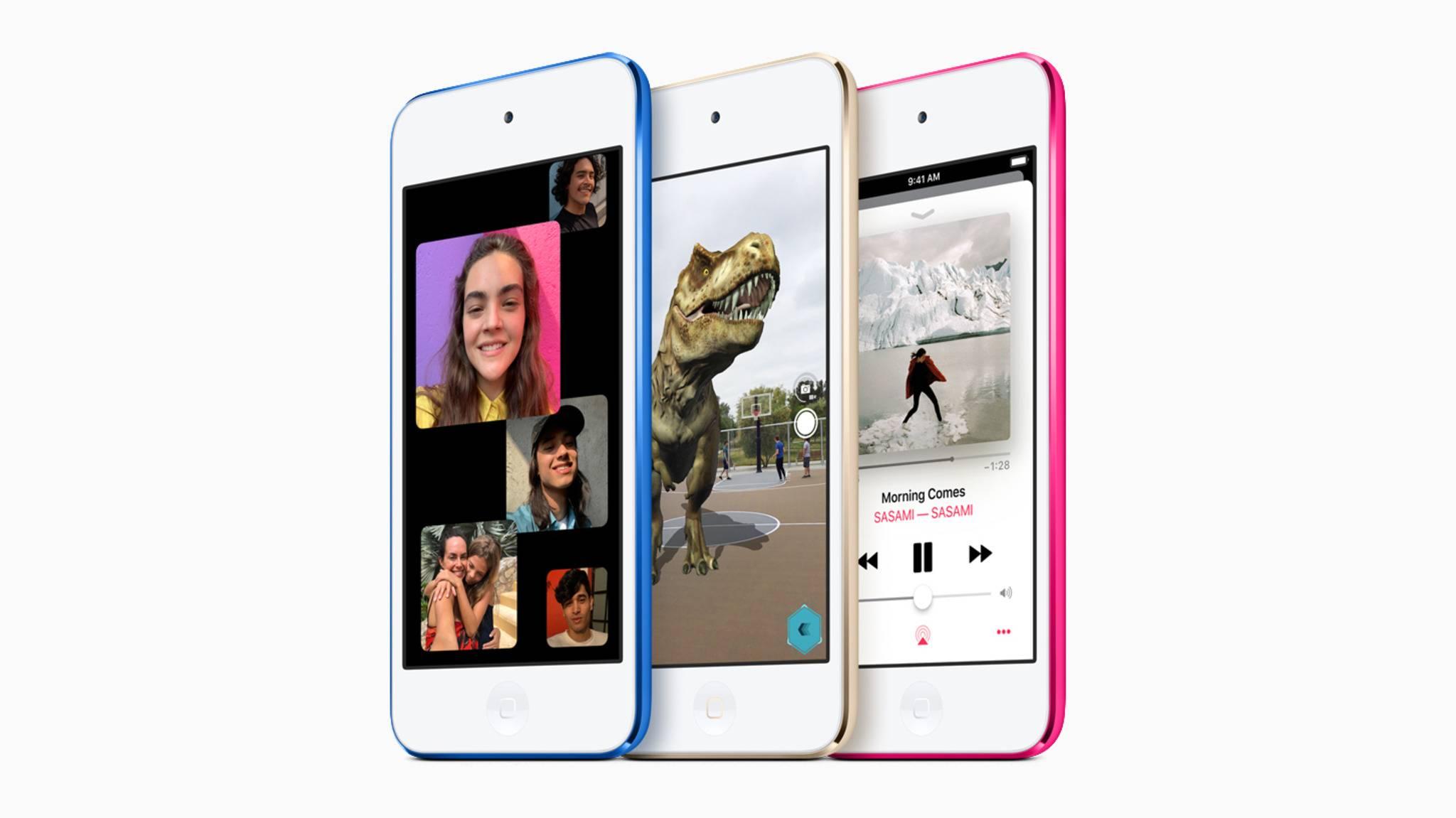 Apples neuer iPod touch hat sich optisch kaum verändert, verfügt aber über etwas mehr Leistung als sein Vorgänger.