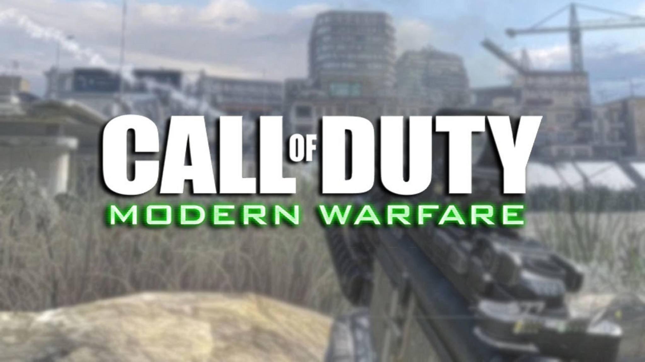 """Der neue """"CoD""""-Teil soll schlicht """"Modern Warfare"""" heißen."""