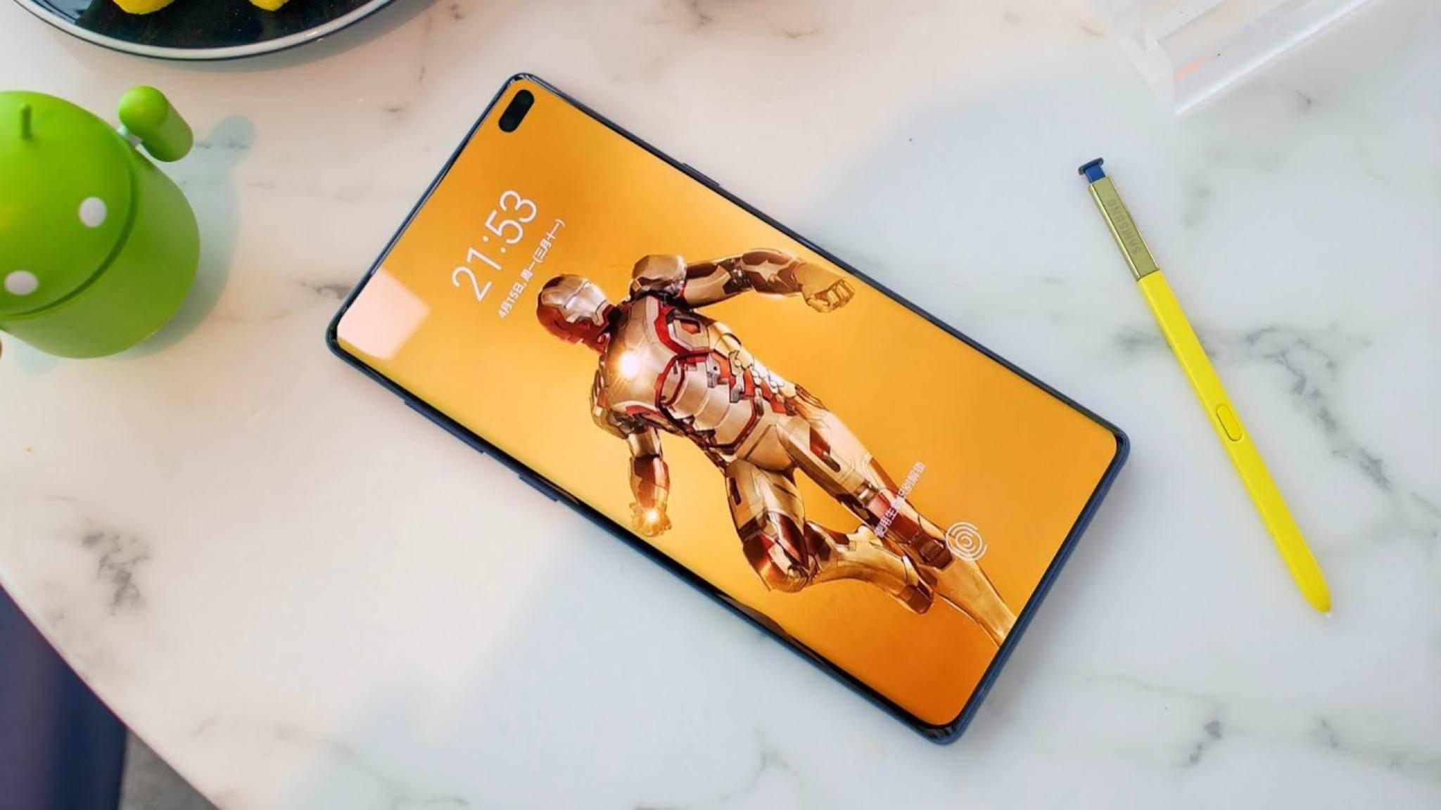 Das Galaxy Note 10 könnte Fast Charging mit weit mehr als 25 Watt unterstützen.