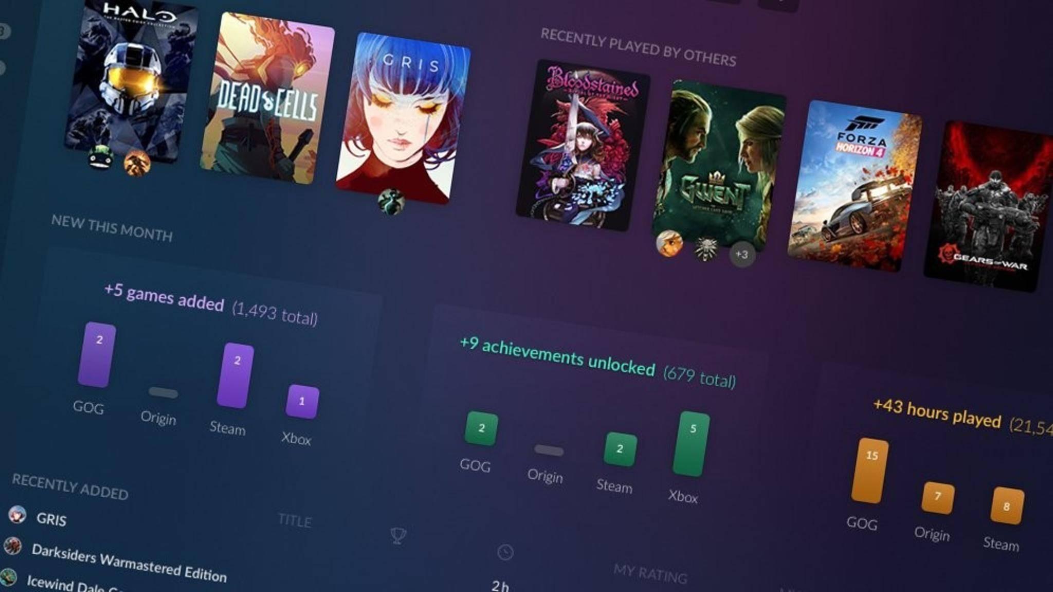 GOG Galaxy: Der Launcher erhält einen neuen Look und mehr Features.