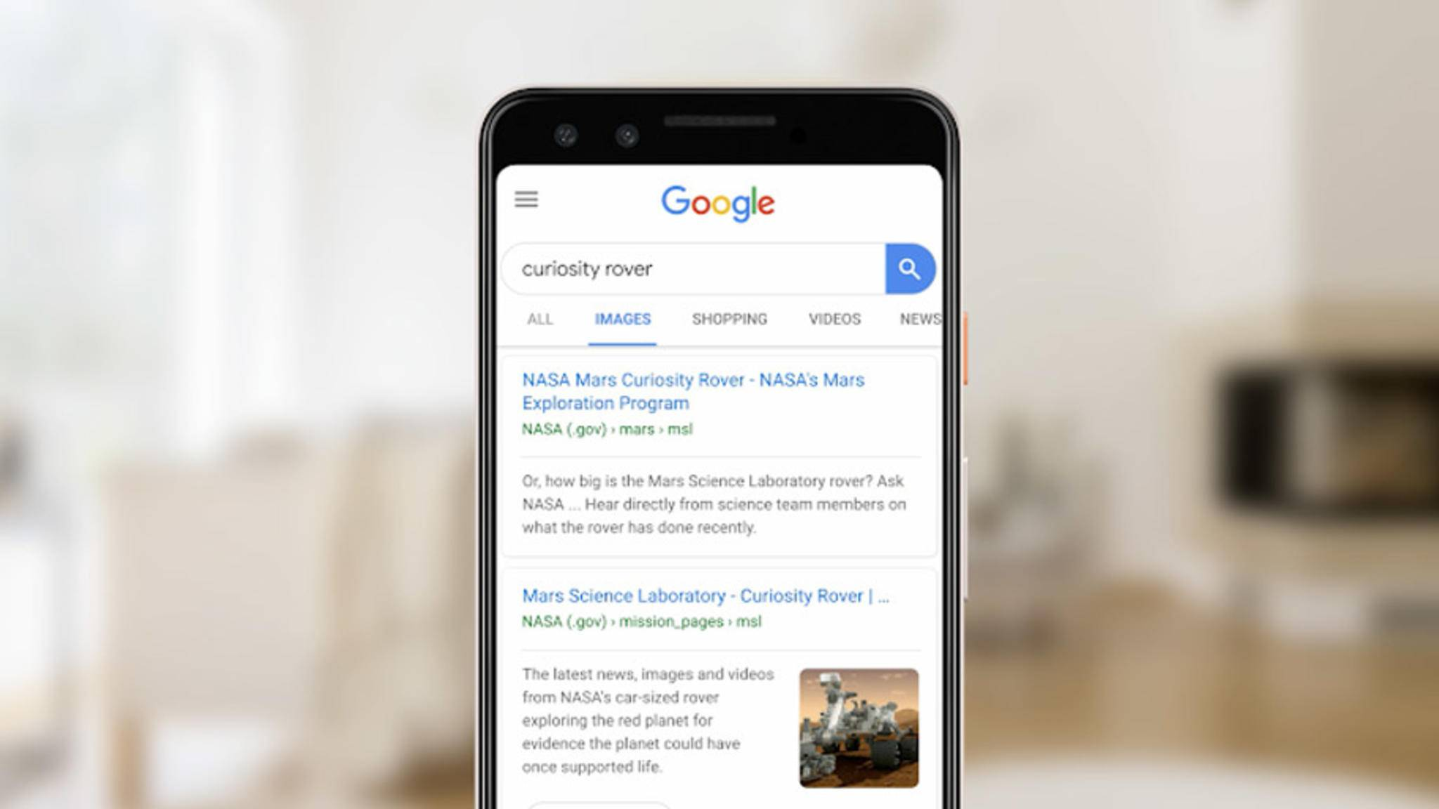 Google will das Teilen von Suchergebnissen leichter machen.