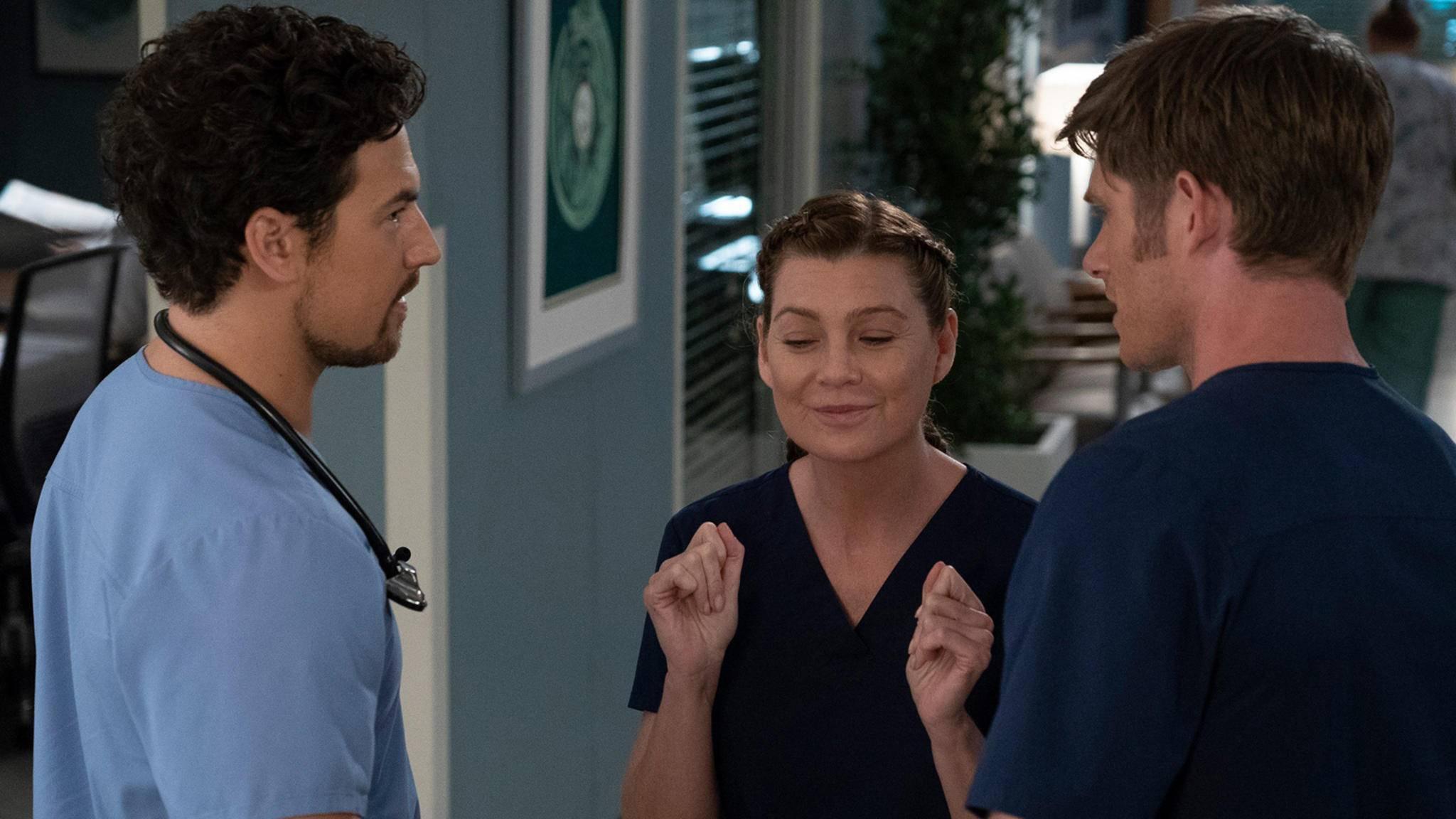 Juhu: Meredith (Ellen Pompeo) darf weiter operieren.