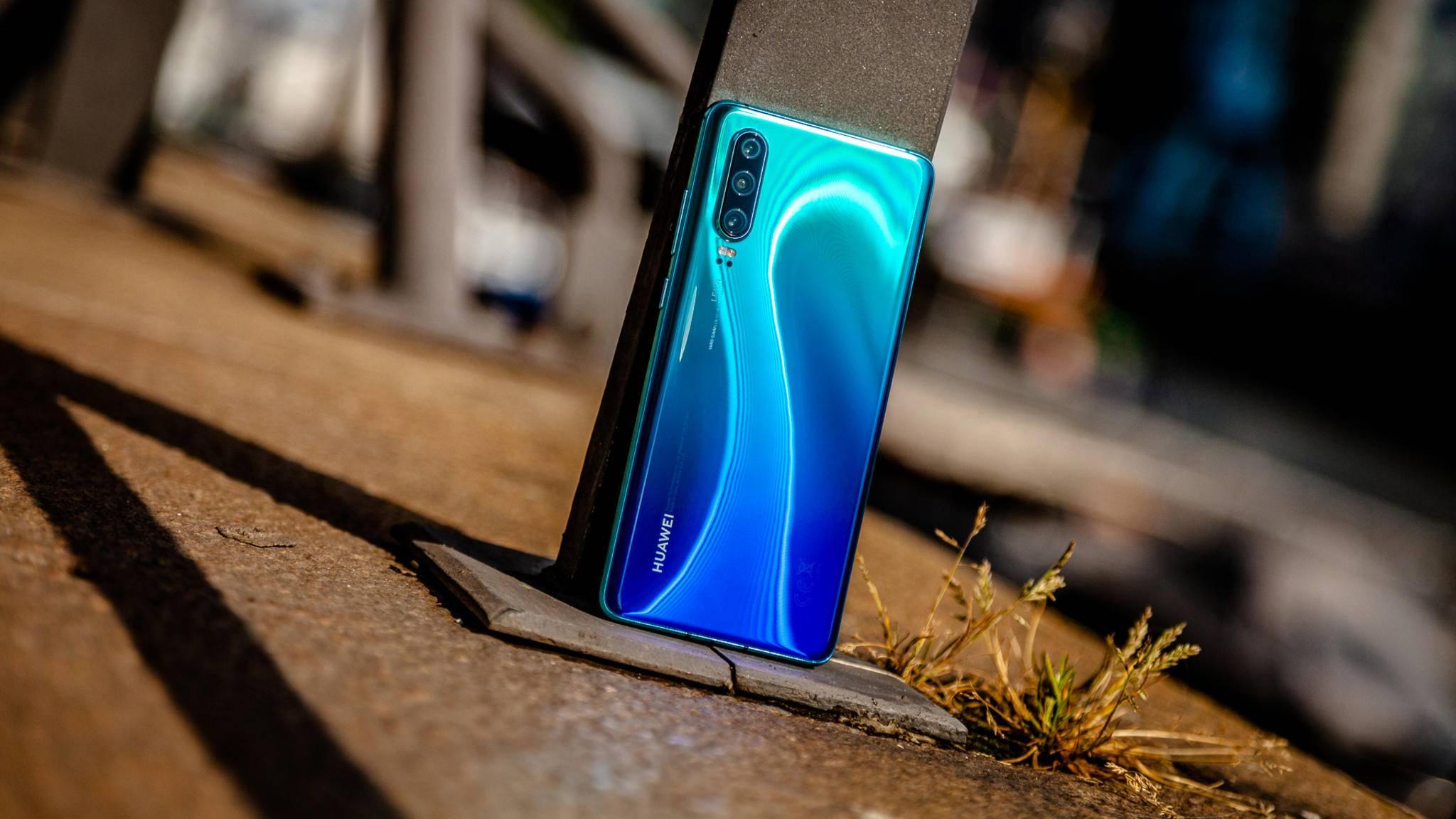 Das Huawei P30 erhält schon im November Android 10.