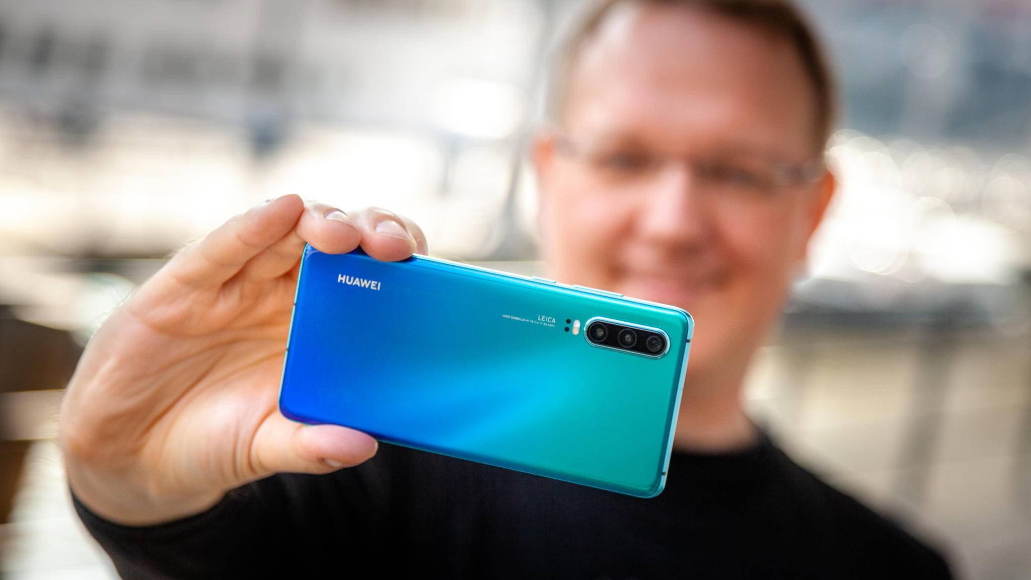 """Auch das """"normale"""" Huawei P30 bietet eine tolle Kamera."""
