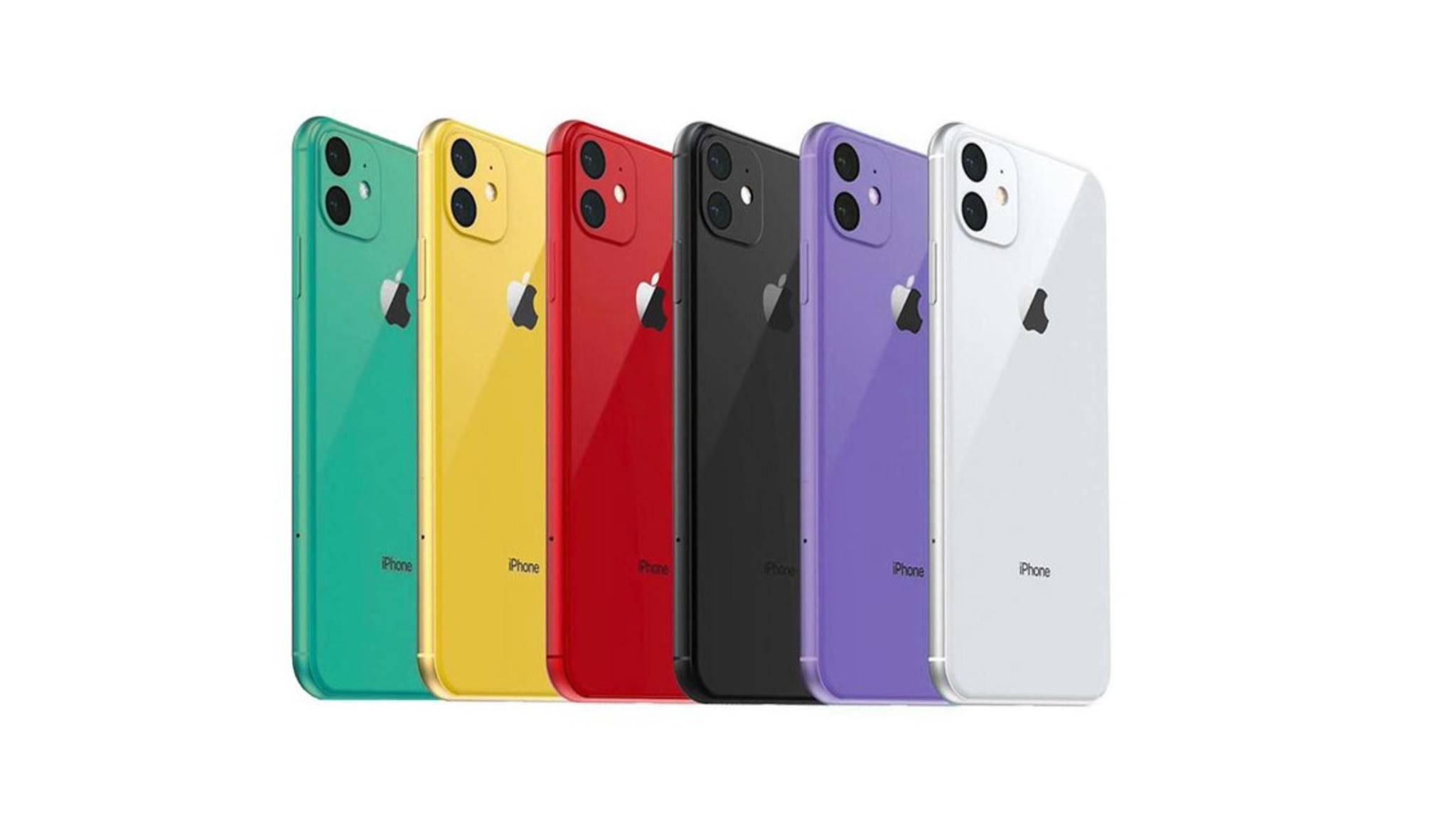 Wird das iPhone XR 2019 in Grün und Lavendel erscheinen?