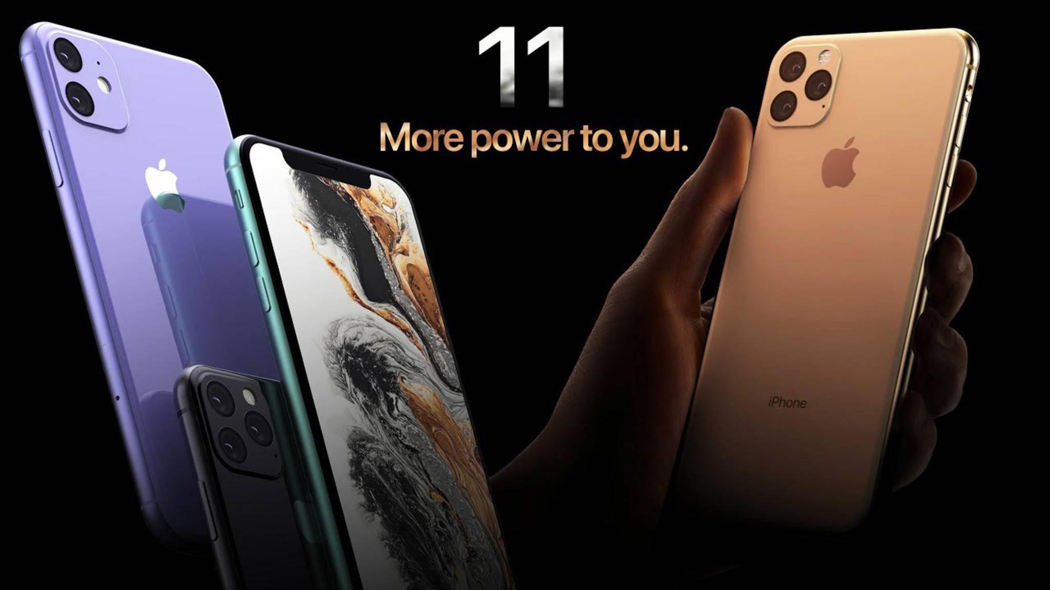 Das iPhone XI soll vor dem Google Pixel 4 und nach dem Galaxy Note 10 erscheinen.