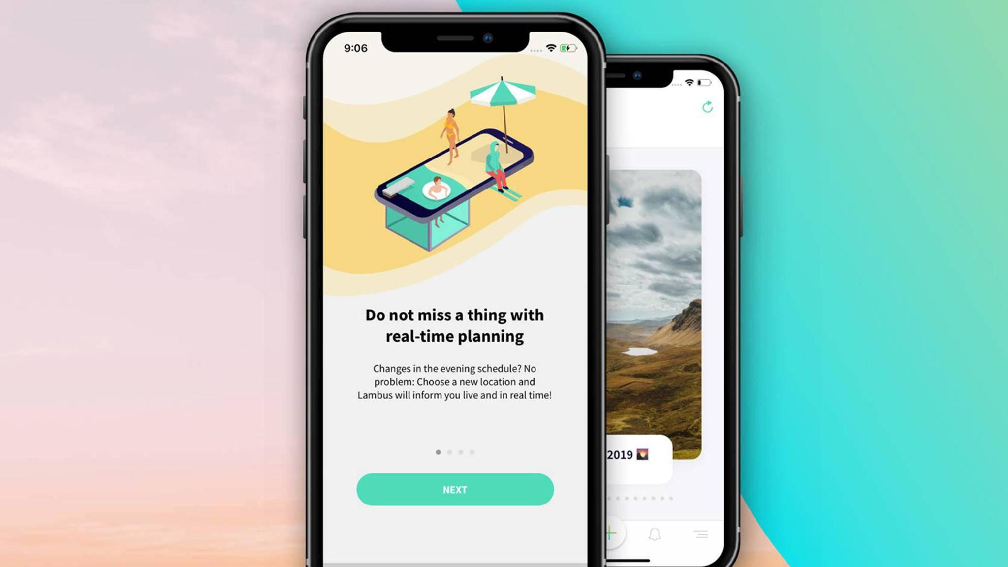 Die Lambus-App soll mit chaotischer Reiseplanung Schluss machen.