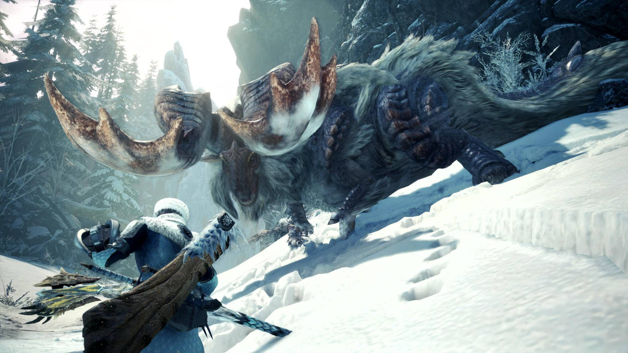 "Winter is coming: In ""Monster Hunter World: Iceborne"" wird's frostig."