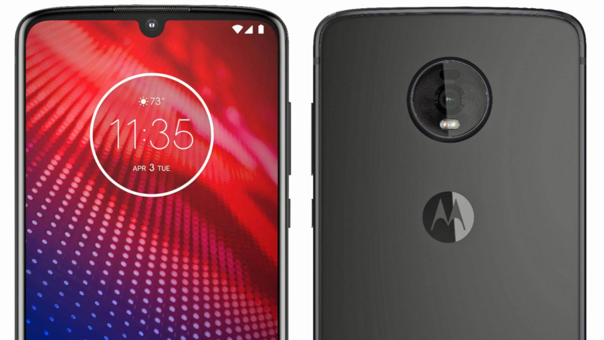 Neben dem Moto Z4 (im Bild) aus der Mittelklasse werkelt Motorola offenbar an einem Flaggschiff-Smartphone.